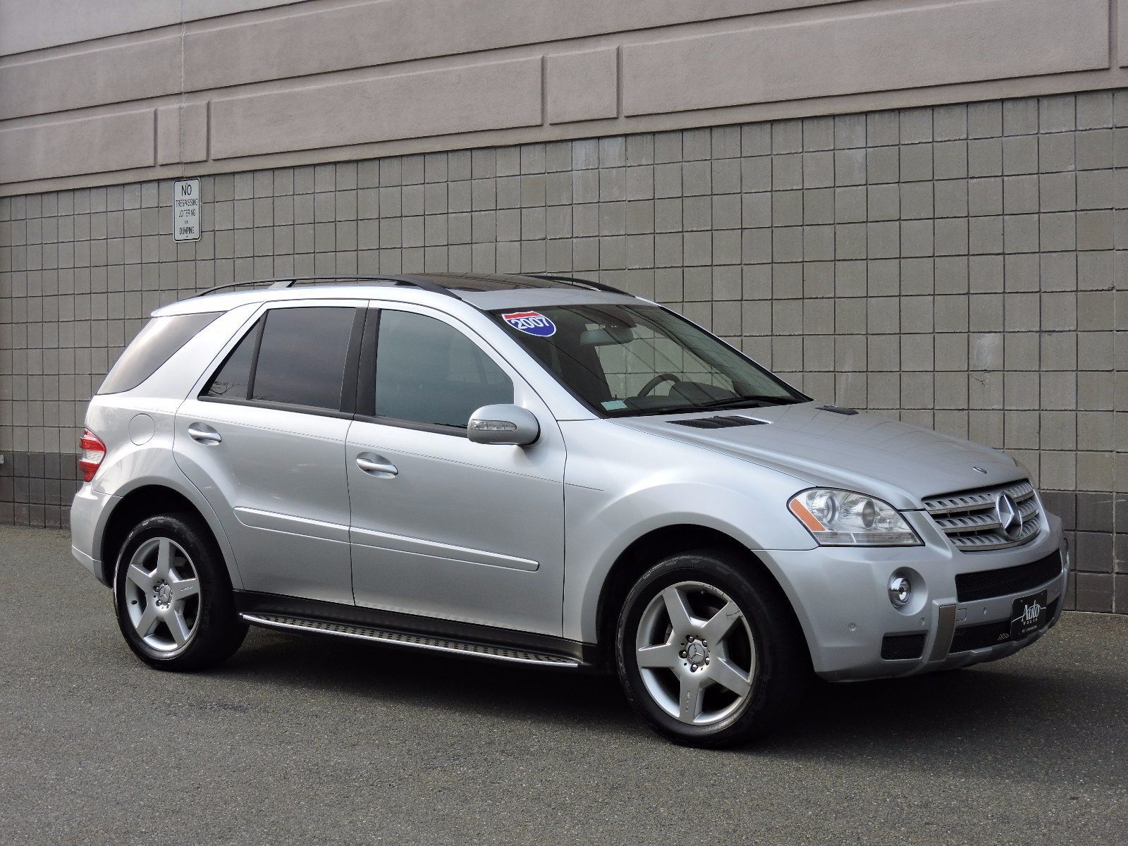 Used 2007 mercedes benz ml350 3 5l at auto house usa saugus for Mercedes benz ml 350 2007