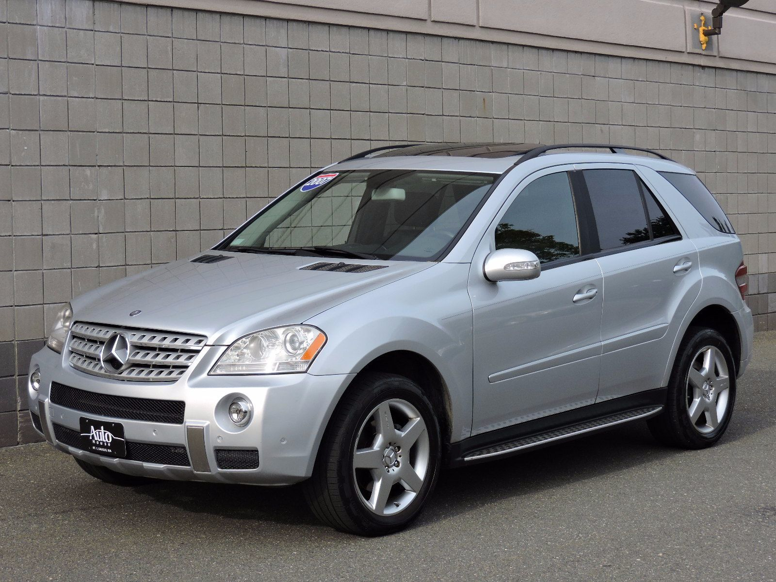 Used 2007 mercedes benz ml350 3 5l at auto house usa saugus for Mercedes benz ua