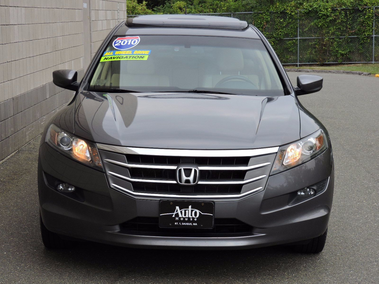 Used 2010 honda accord crosstour ex l at auto house usa saugus for Used honda accords