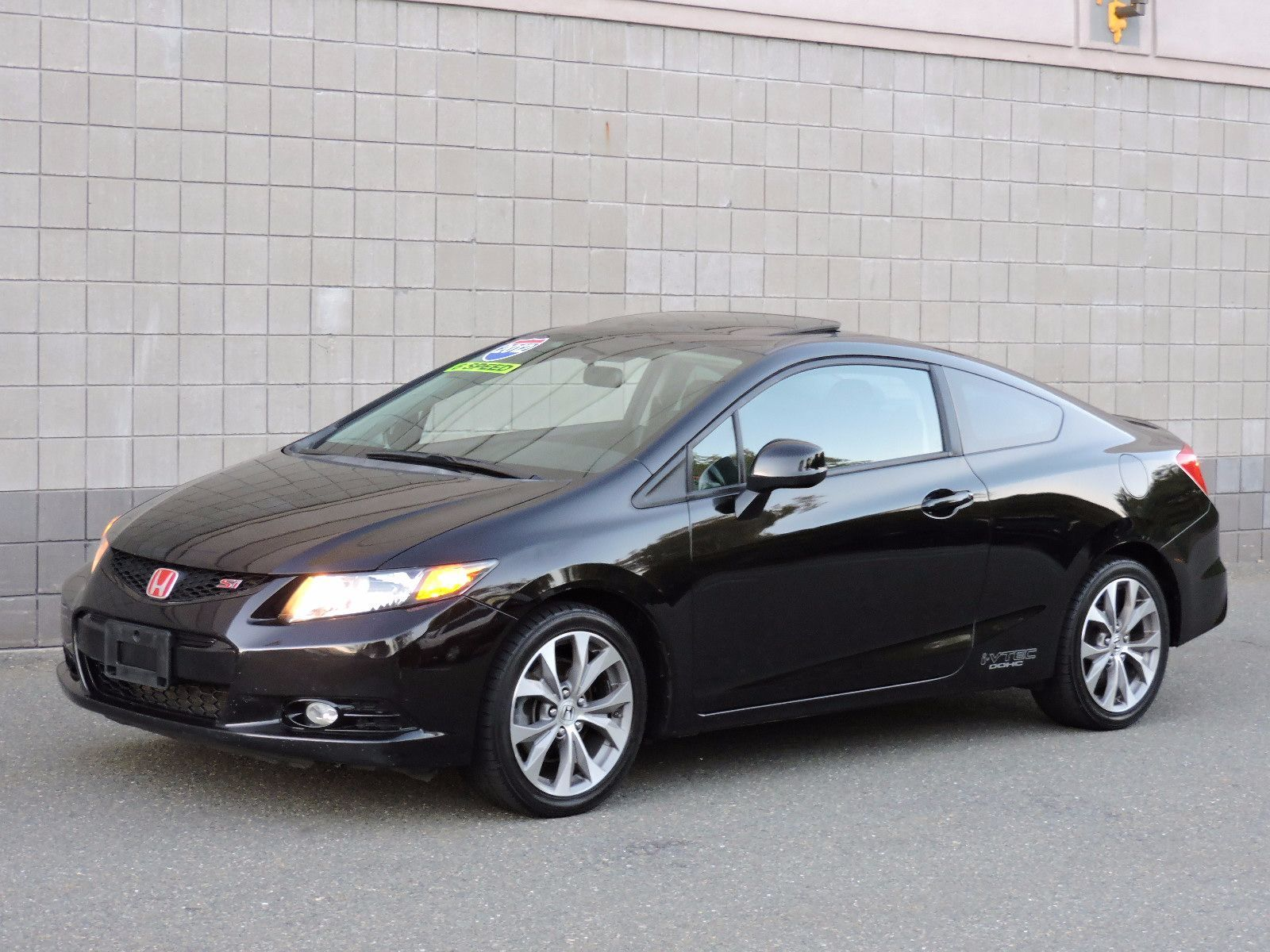 used 2012 honda civic cpe si at auto house usa saugus. Black Bedroom Furniture Sets. Home Design Ideas