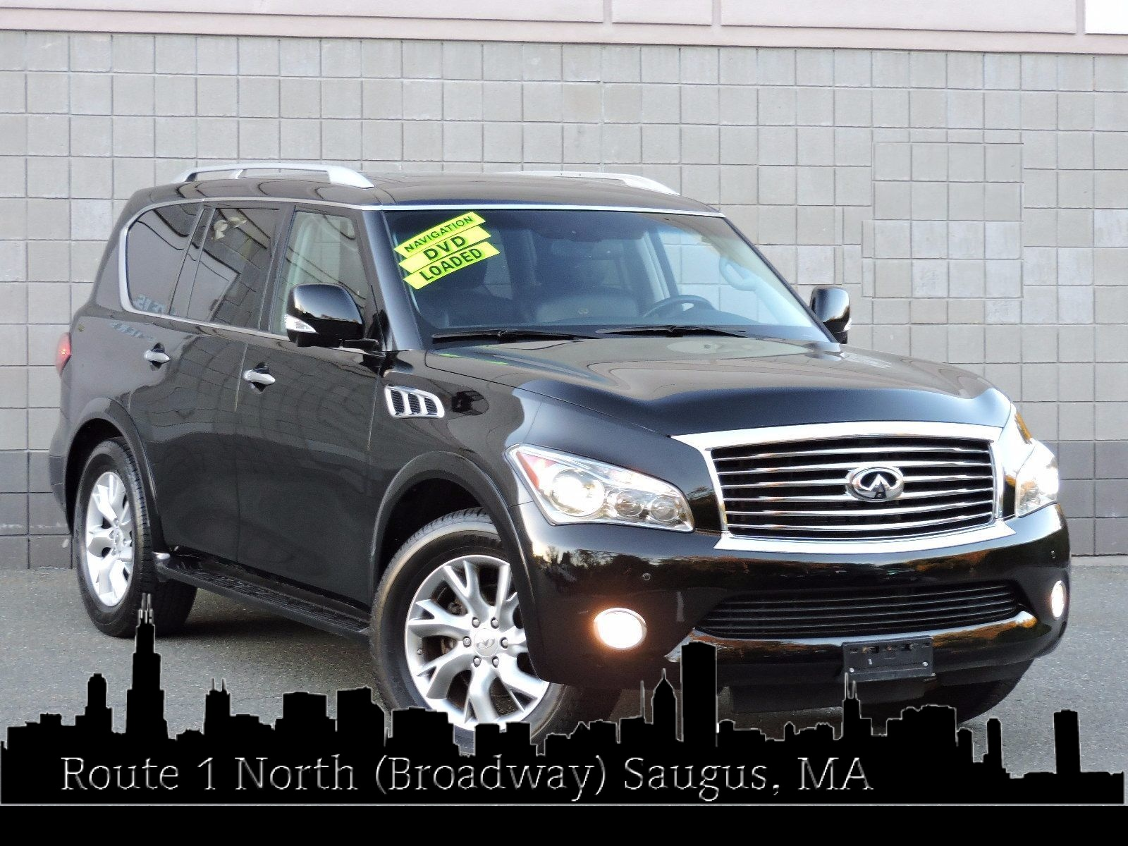 drive at wheel cars used usa infinity saugus auto dvd entertainment navigation house passenger all suv infiniti video
