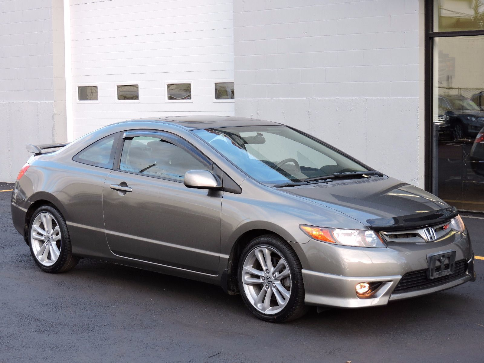 used 2008 honda civic cpe si at auto house usa saugus. Black Bedroom Furniture Sets. Home Design Ideas