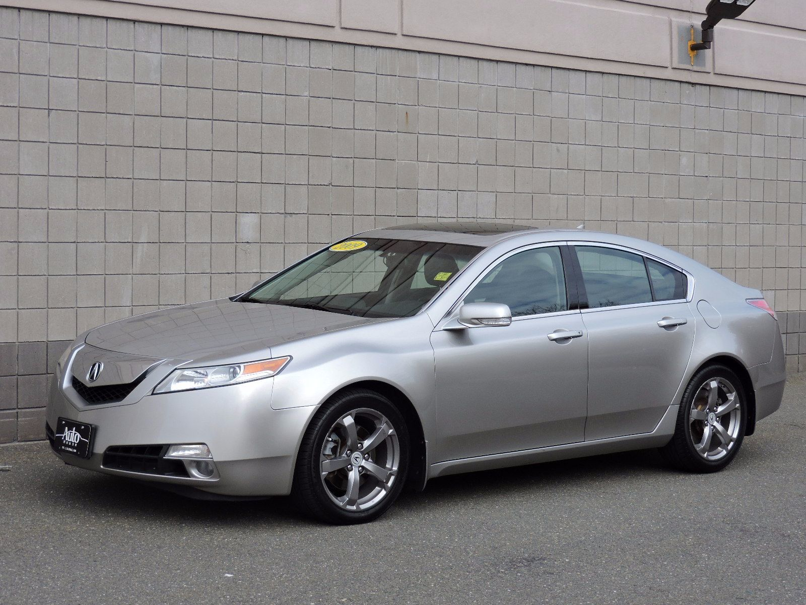 2009 acura tl all wheel drive