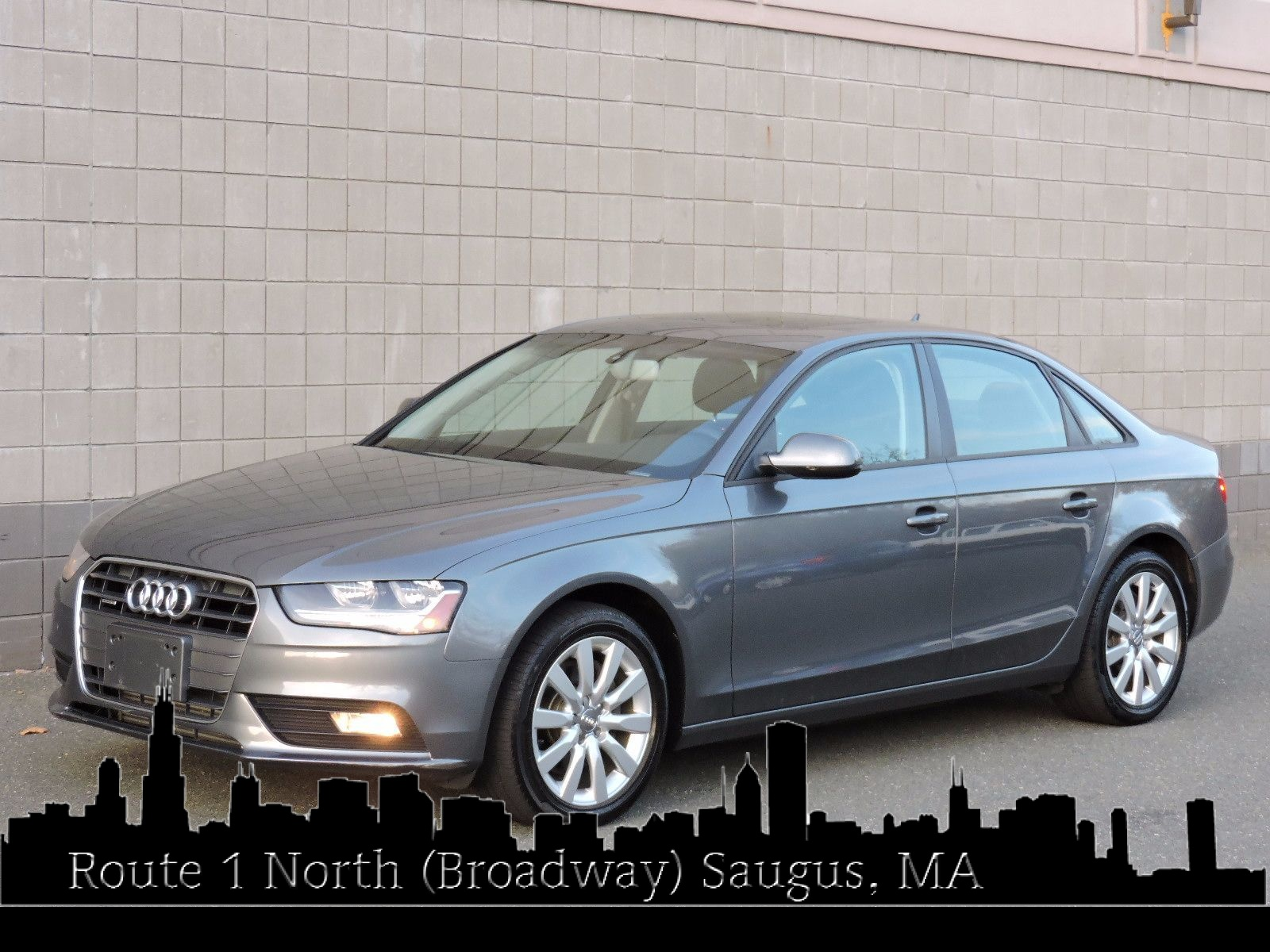 used 2014 audi a4 premium at auto house usa saugus. Black Bedroom Furniture Sets. Home Design Ideas