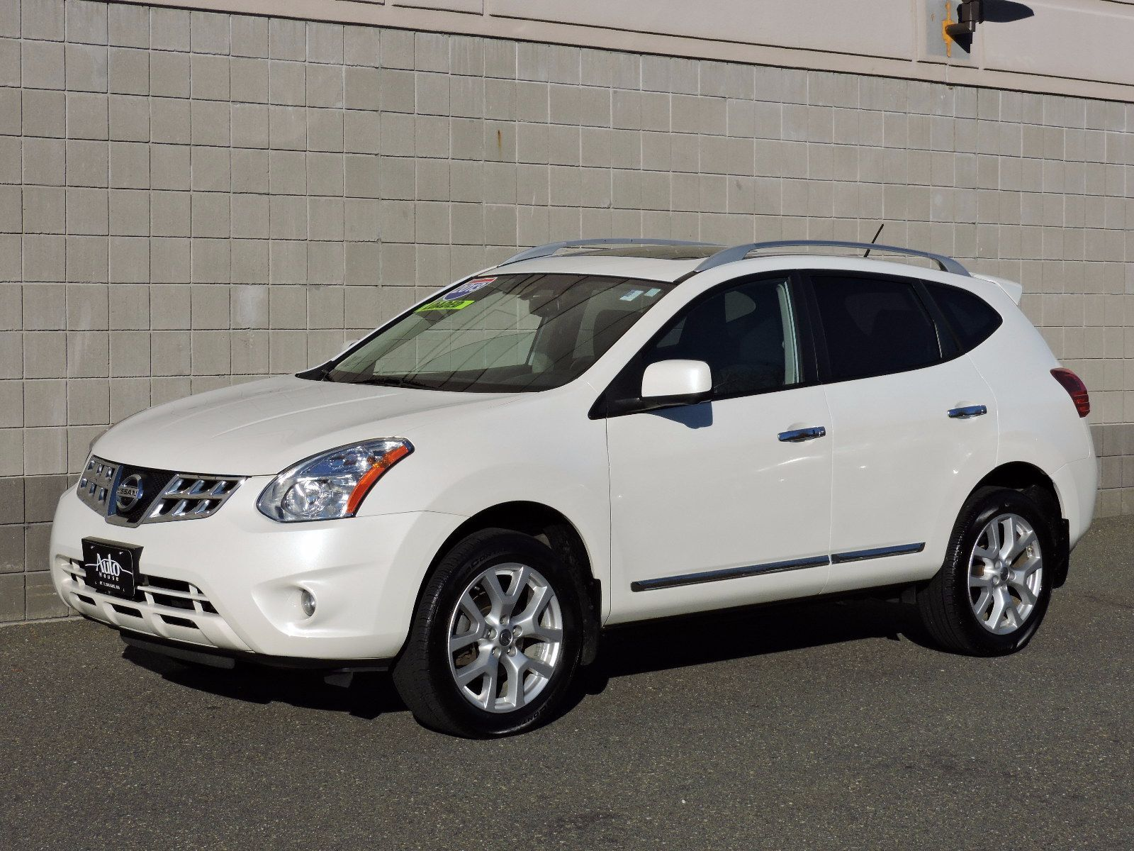 used 2013 nissan rogue sl at auto house usa saugus. Black Bedroom Furniture Sets. Home Design Ideas