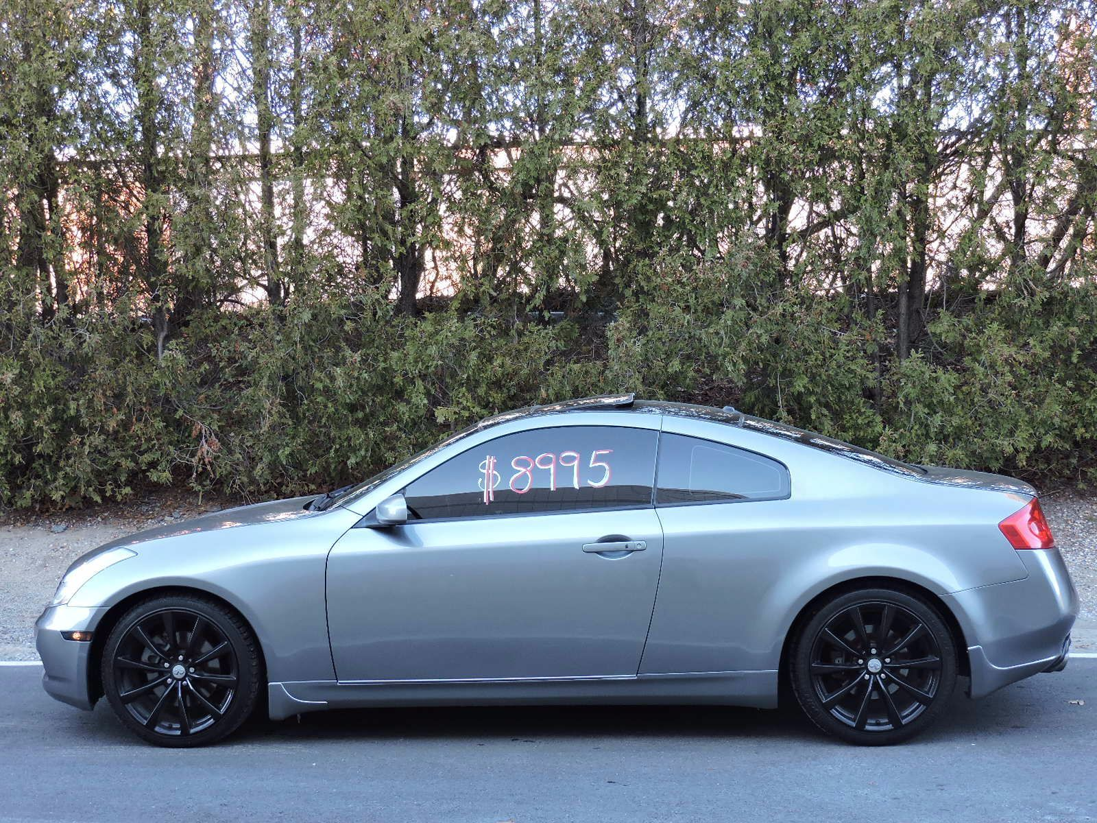 used 2006 infiniti g35 coupe at auto house usa saugus. Black Bedroom Furniture Sets. Home Design Ideas