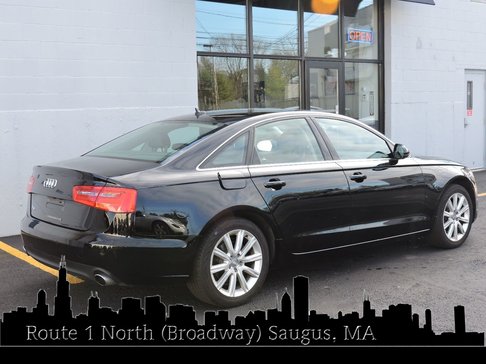 2013 Audi A6 All Wheel Drive - Navigation