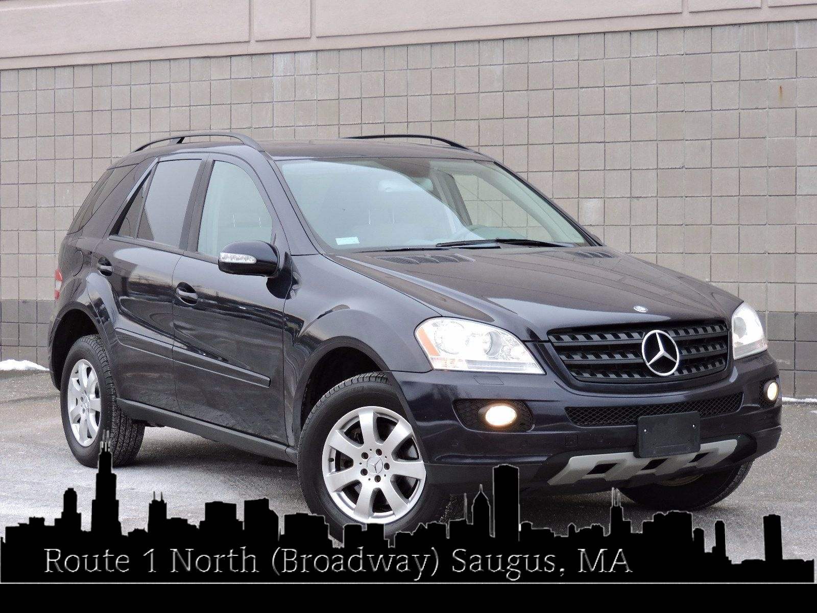 used 2006 mercedes benz ml350 3 5l at auto house usa saugus. Black Bedroom Furniture Sets. Home Design Ideas