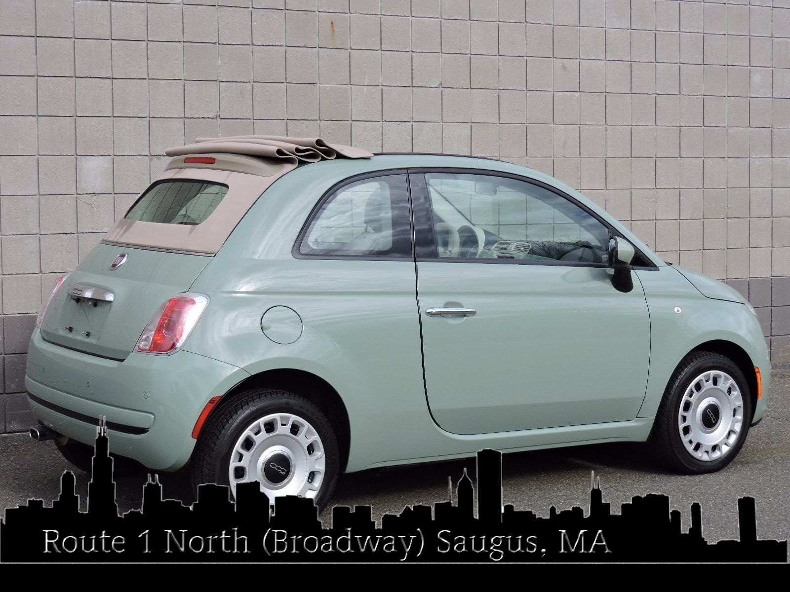 used 2013 fiat 500c pop at auto house usa saugus. Black Bedroom Furniture Sets. Home Design Ideas