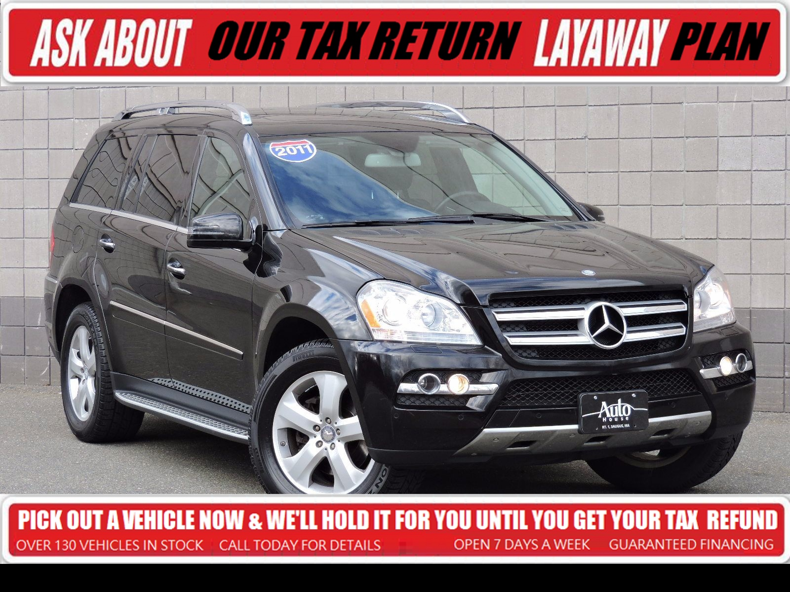 Used 2011 mercedes benz gl450 at auto house usa saugus for Power wheels mercedes benz gl450