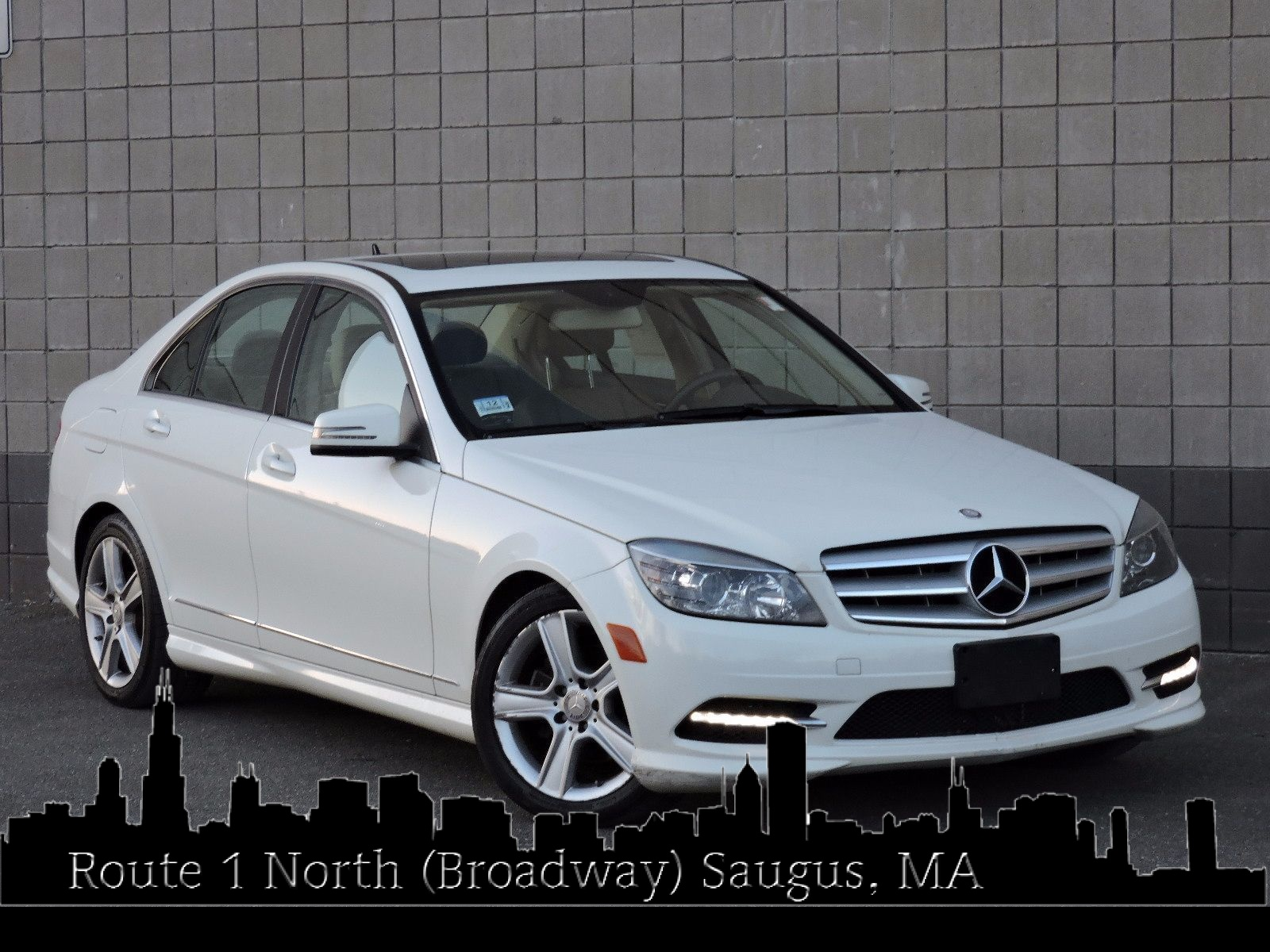 used 2011 mercedes benz c300 c300 sport at auto house usa saugus. Black Bedroom Furniture Sets. Home Design Ideas