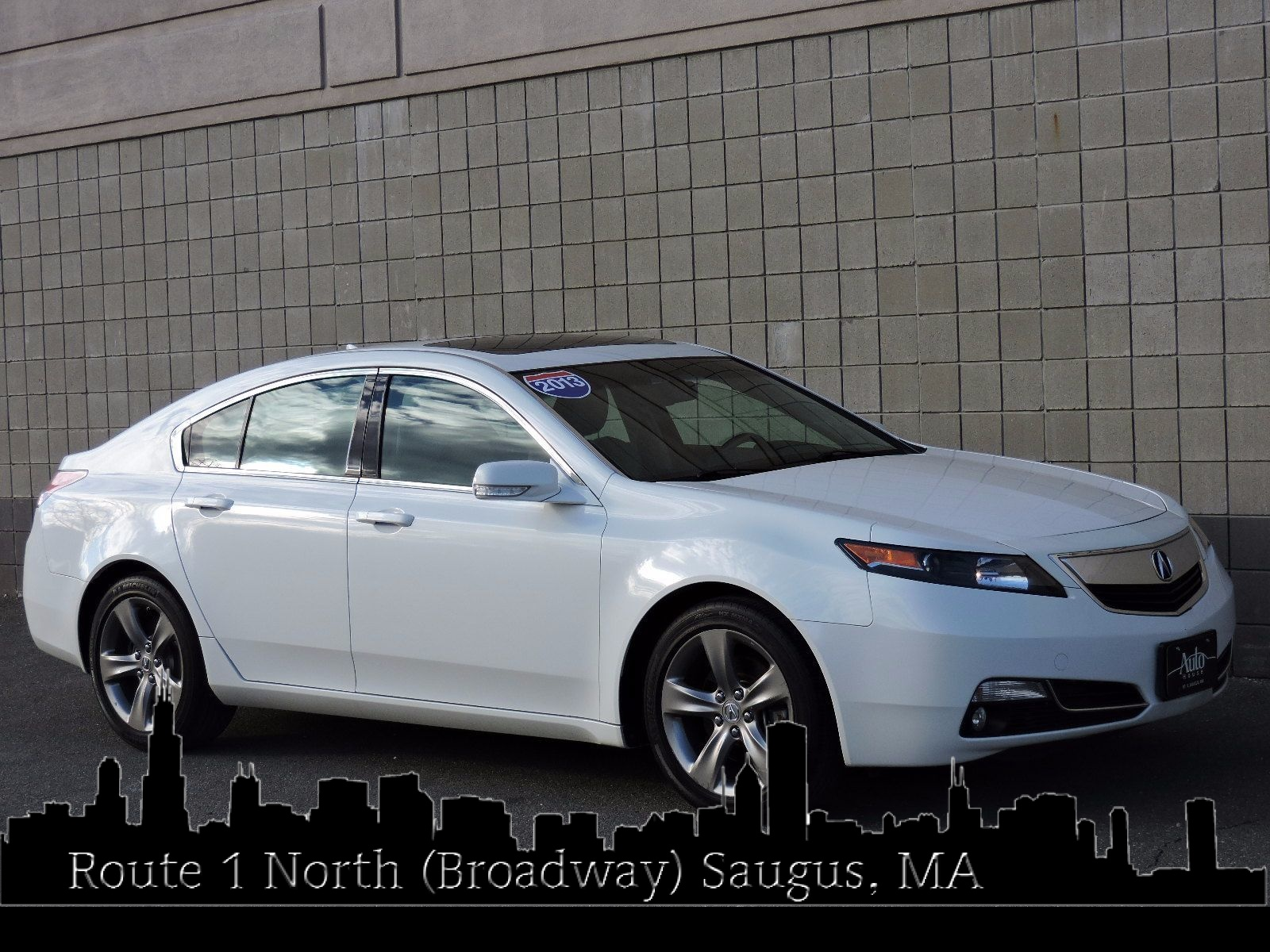 used 2013 acura tl 5 5l v8 at auto house usa saugus. Black Bedroom Furniture Sets. Home Design Ideas