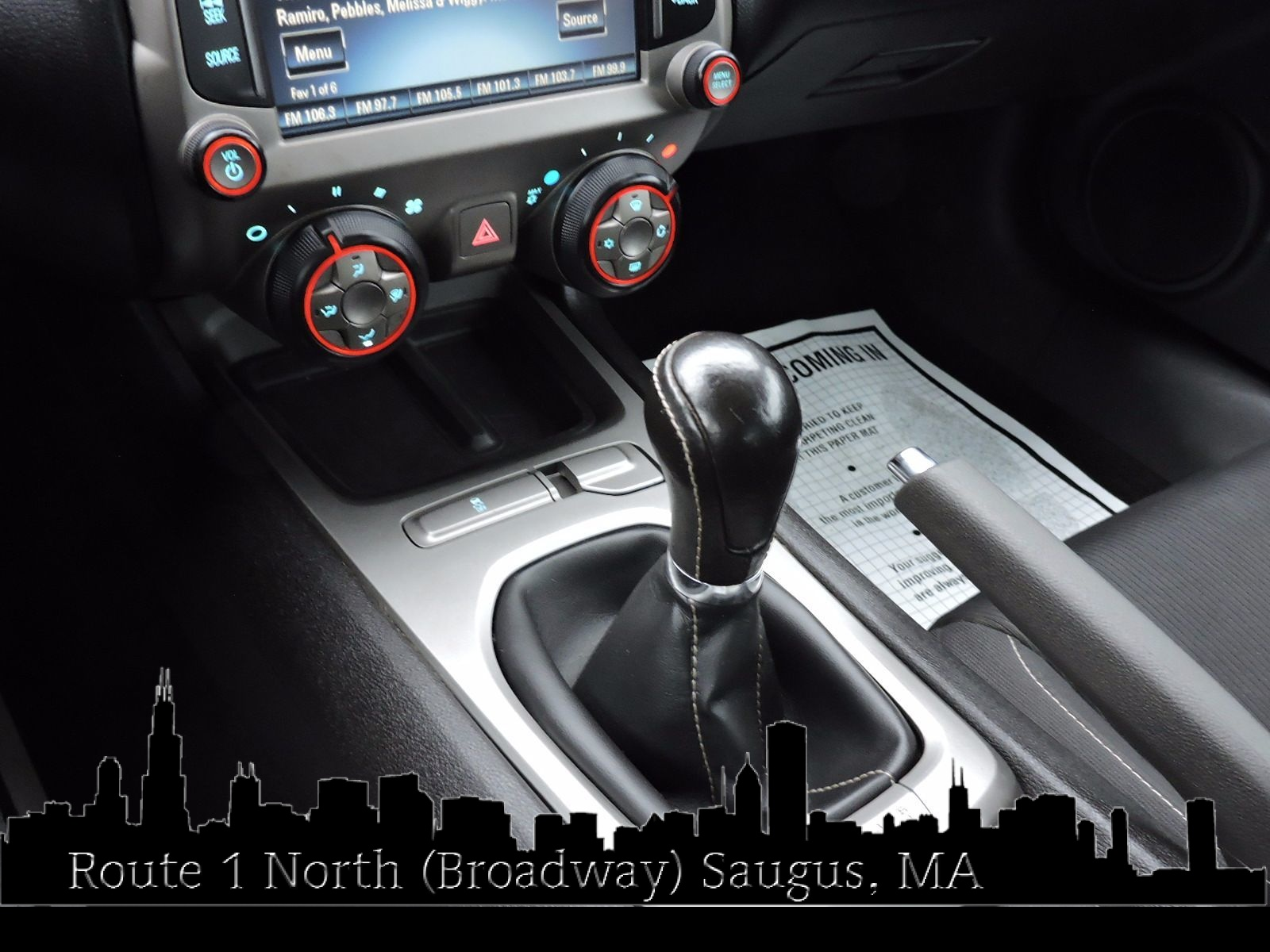 2013 Chevrolet Camaro - 6 Speed
