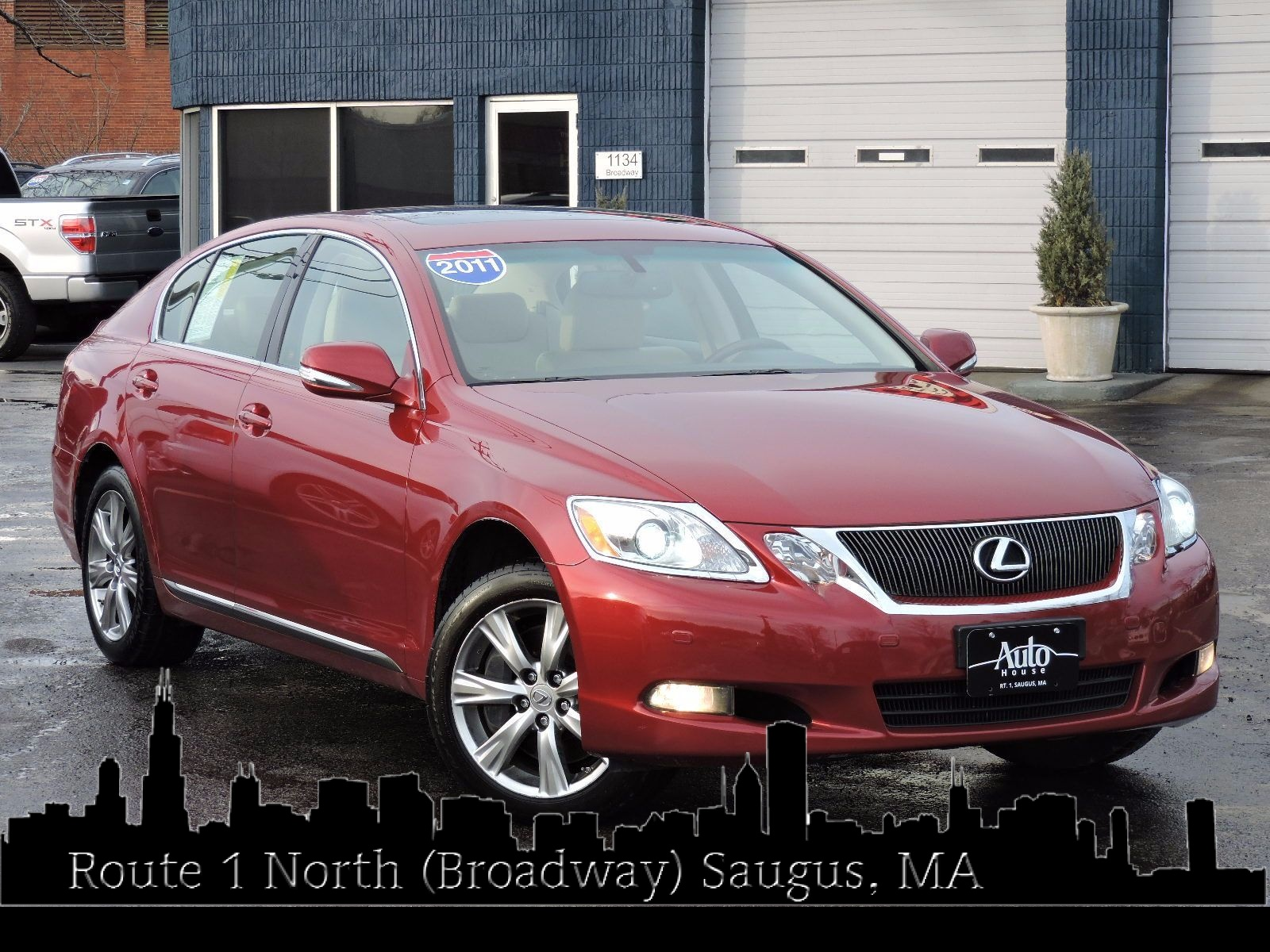 used 2011 lexus gs 350 ex l at auto house usa saugus. Black Bedroom Furniture Sets. Home Design Ideas