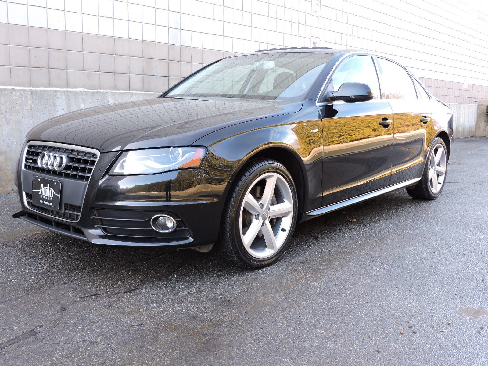 used 2012 audi a4 2 0t premium plus at auto house usa saugus. Black Bedroom Furniture Sets. Home Design Ideas