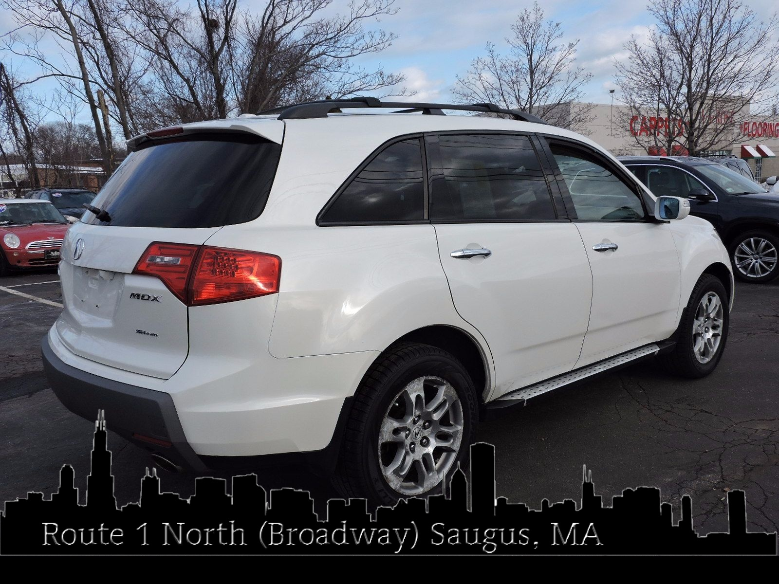 used 2007 acura mdx techentertainment pkg at auto house usa saugus. Black Bedroom Furniture Sets. Home Design Ideas