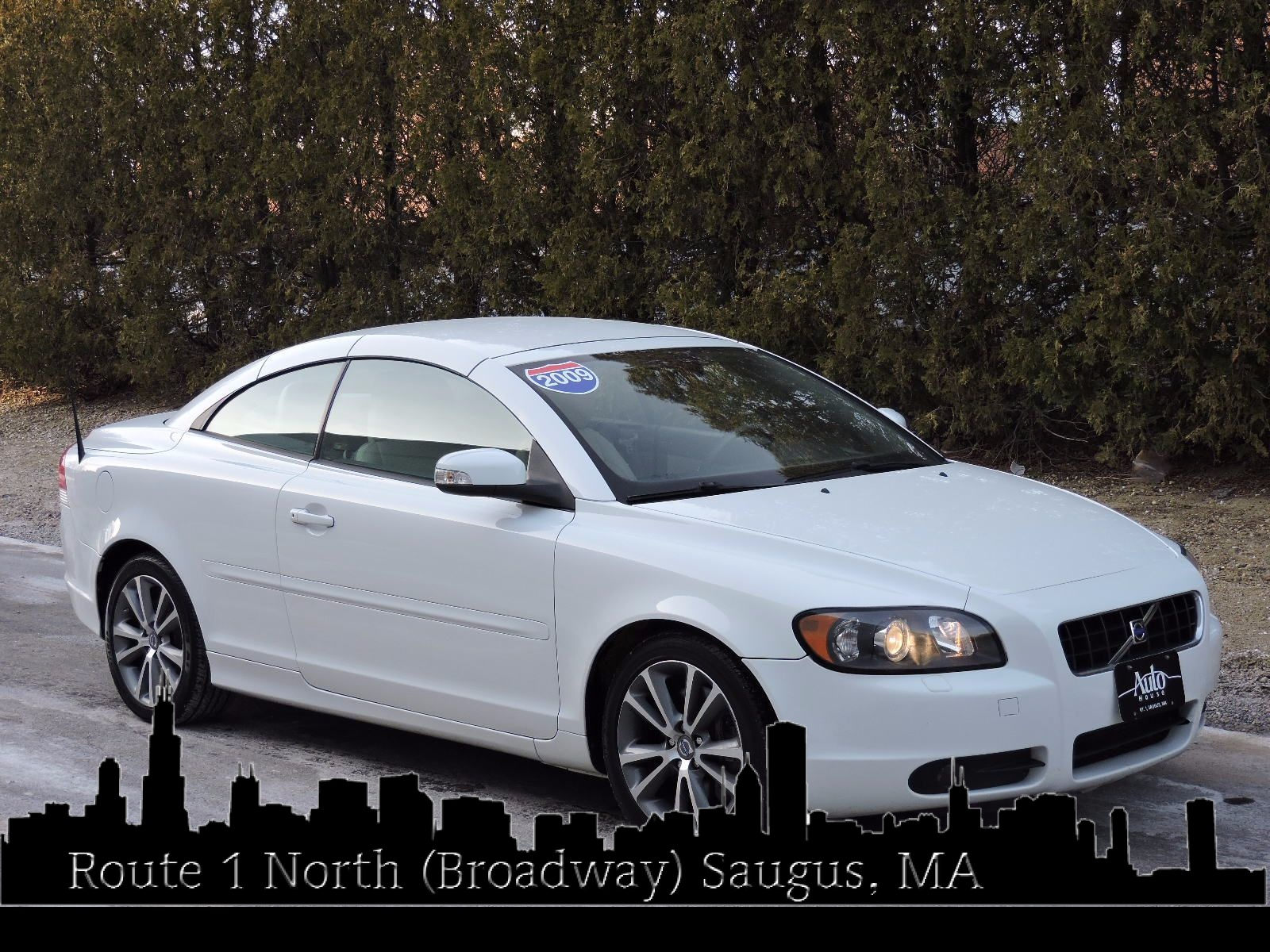 used 2009 volvo c70 2 0t prestige at auto house usa saugus. Black Bedroom Furniture Sets. Home Design Ideas