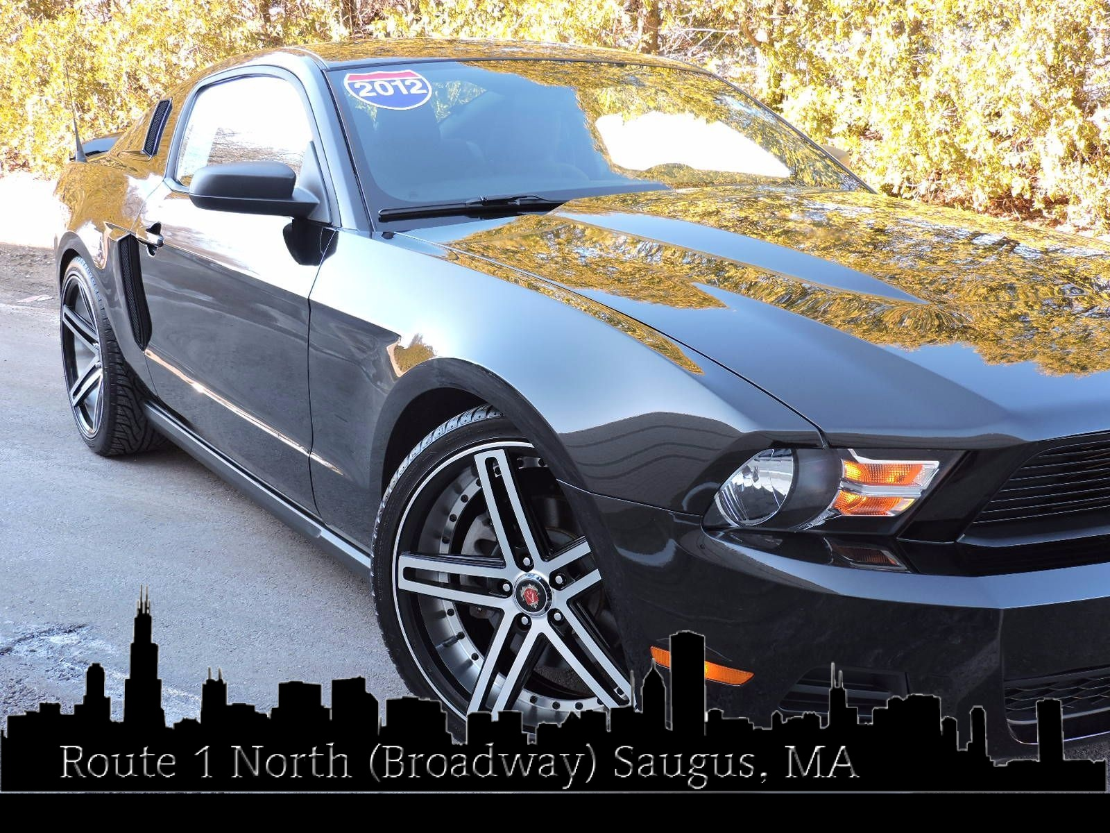 2012 Ford Mustang - 6 Speed Manual