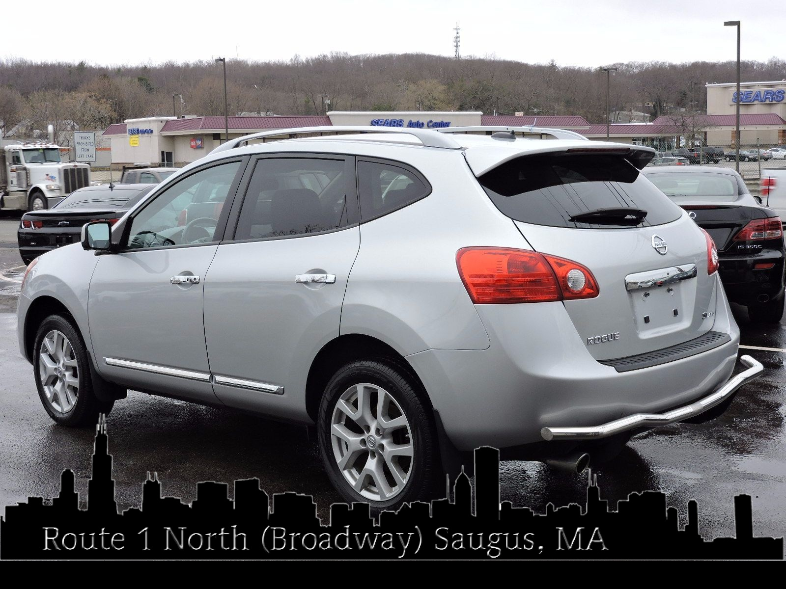 Used 2013 nissan rogue sl at auto house usa saugus 2013 nissan rogue sl all wheel drive navigation vanachro Gallery