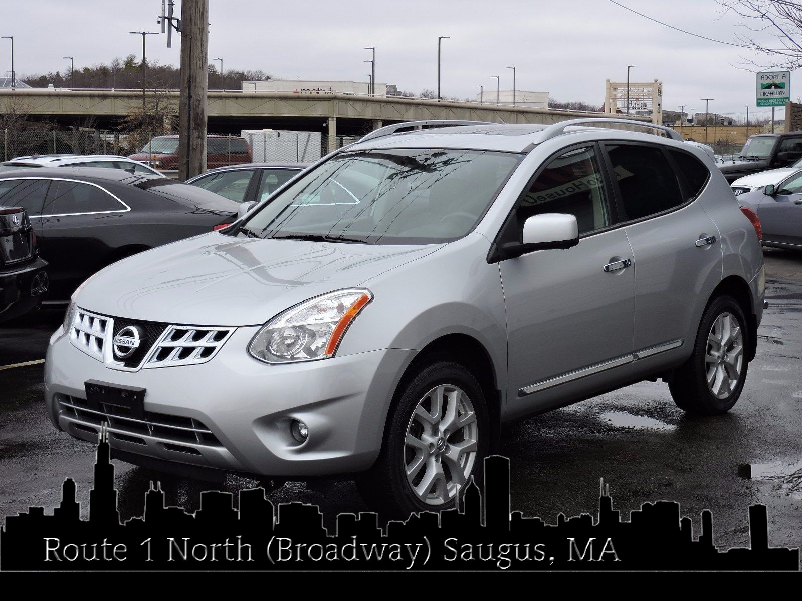 Used 2013 Nissan Rogue SL at Auto House USA Saugus
