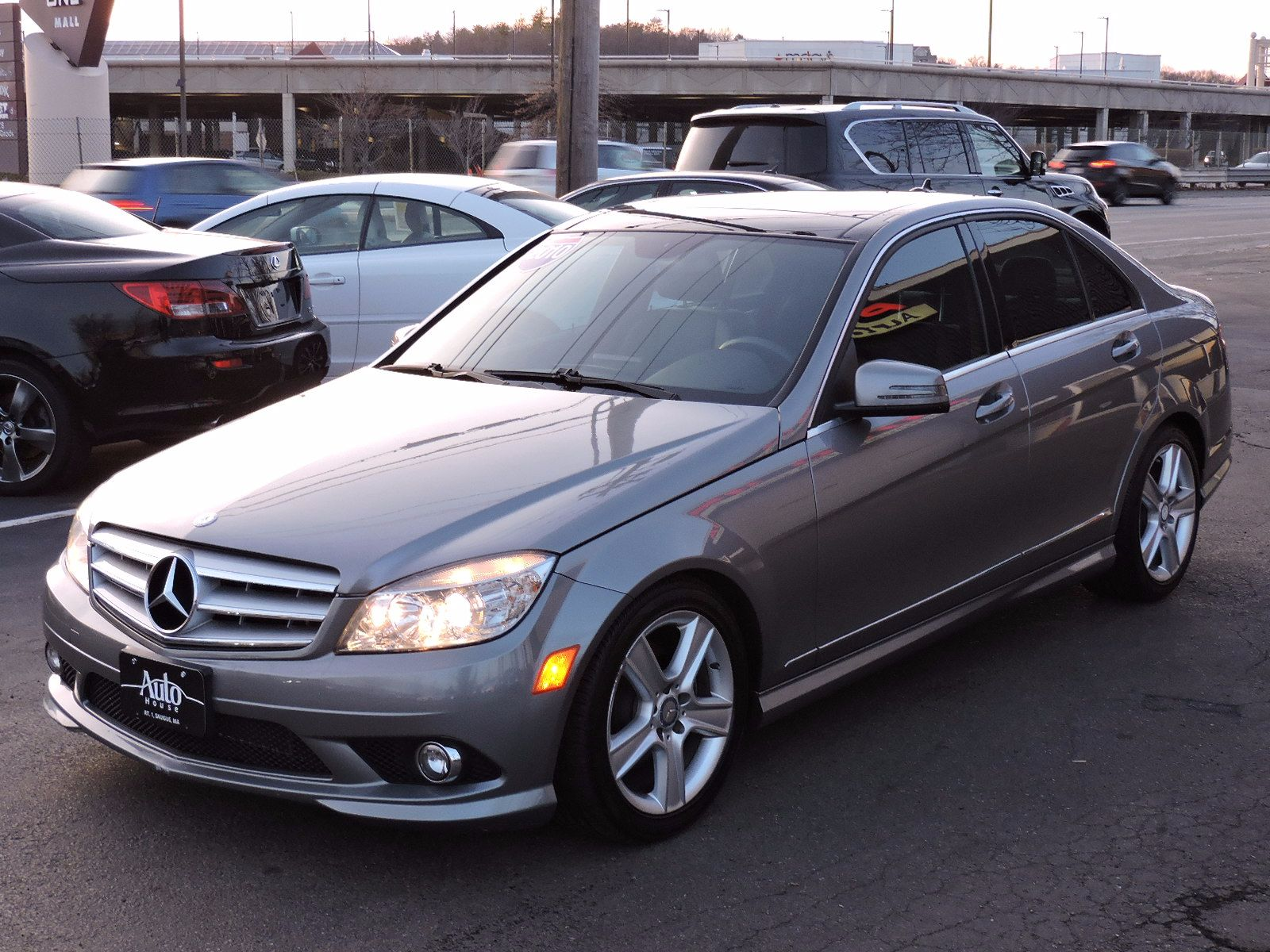 Used 2010 mercedes benz c class c300 sport at auto house for Mercedes benz c300 4matic 2010 price