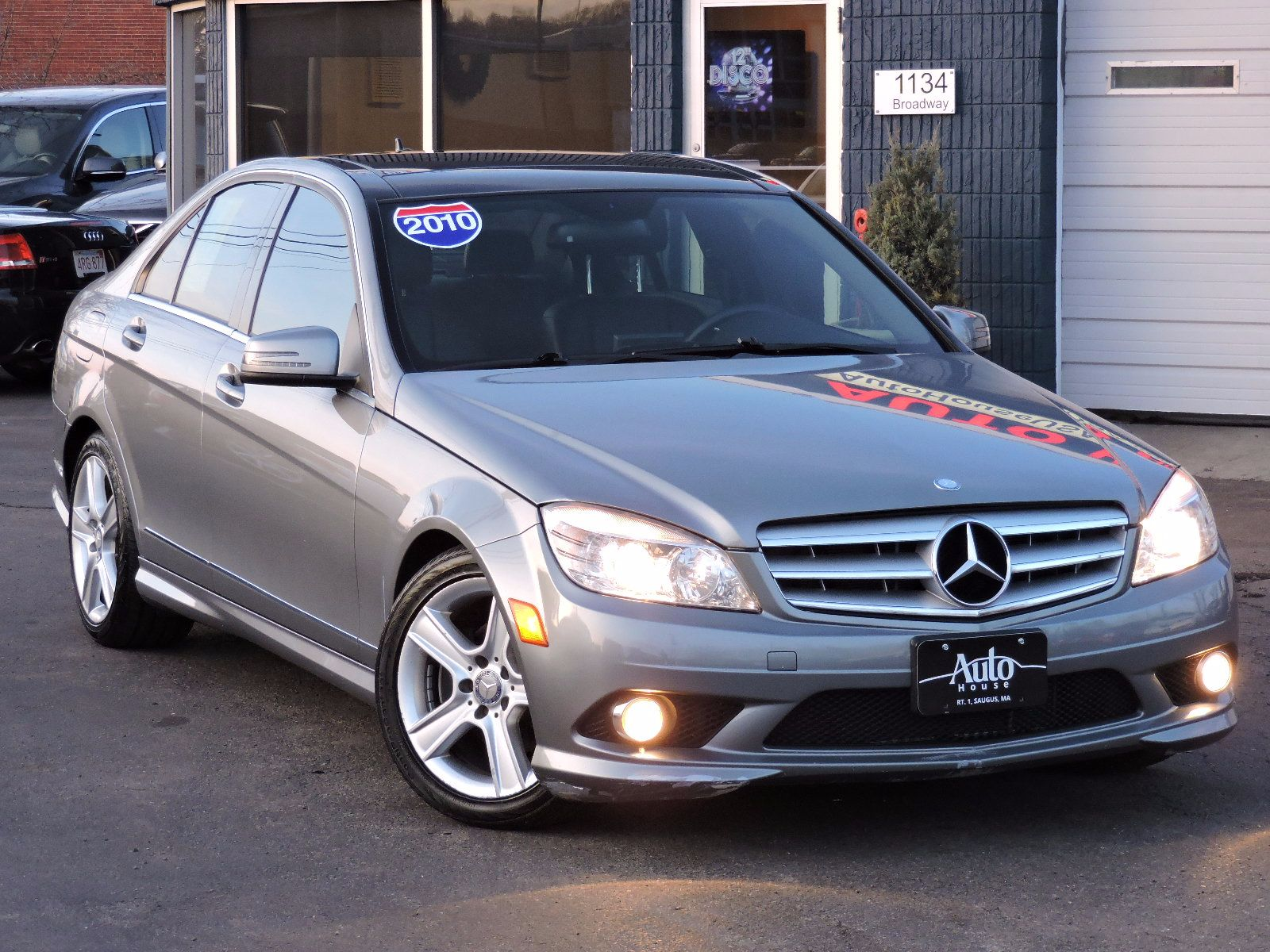 Used 2010 mercedes benz c class c300 sport at auto house for Mercedes benz car loan rates