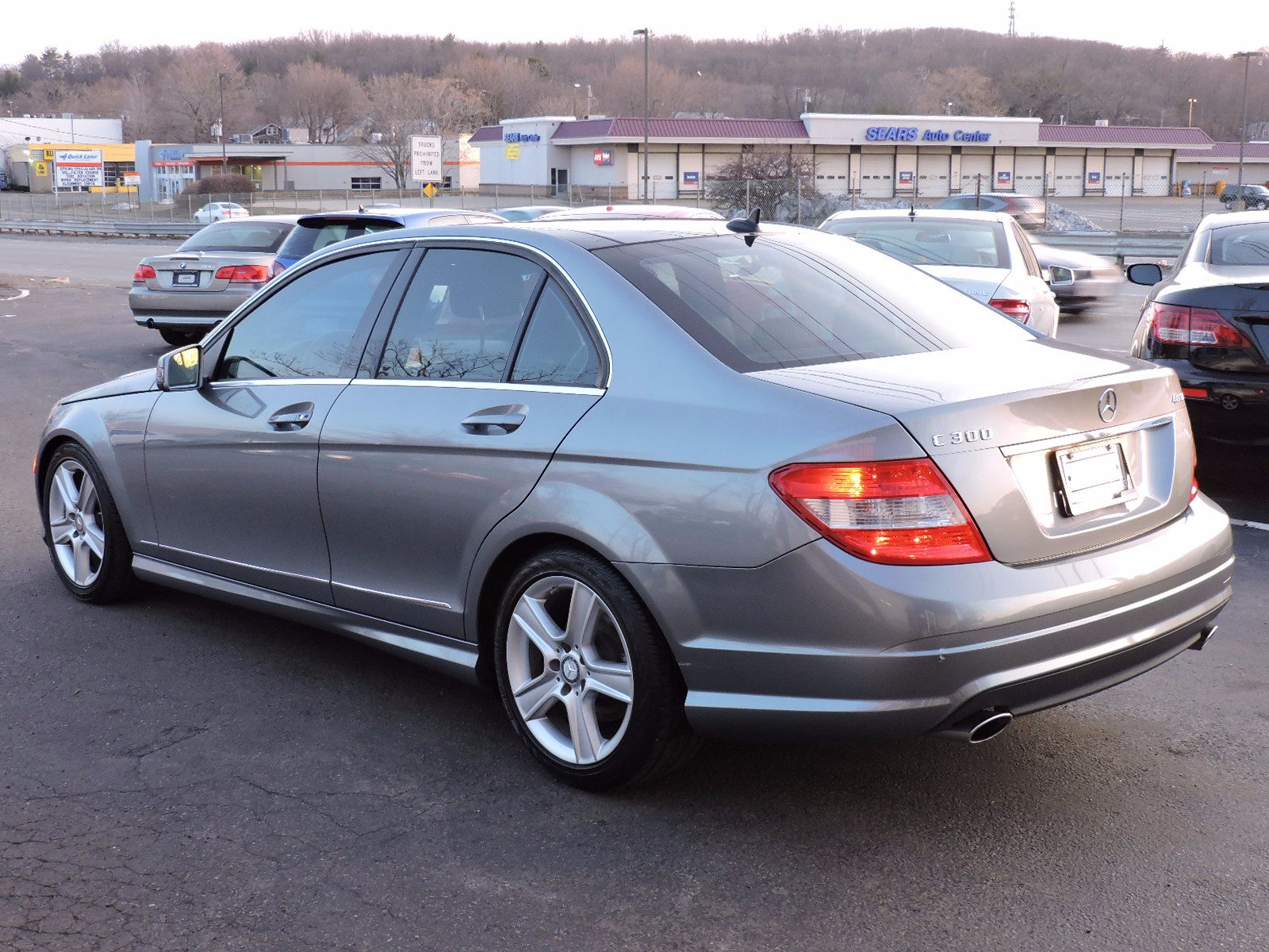 Used 2010 mercedes benz c class c300 sport at auto house for Mercedes benz c300 2010