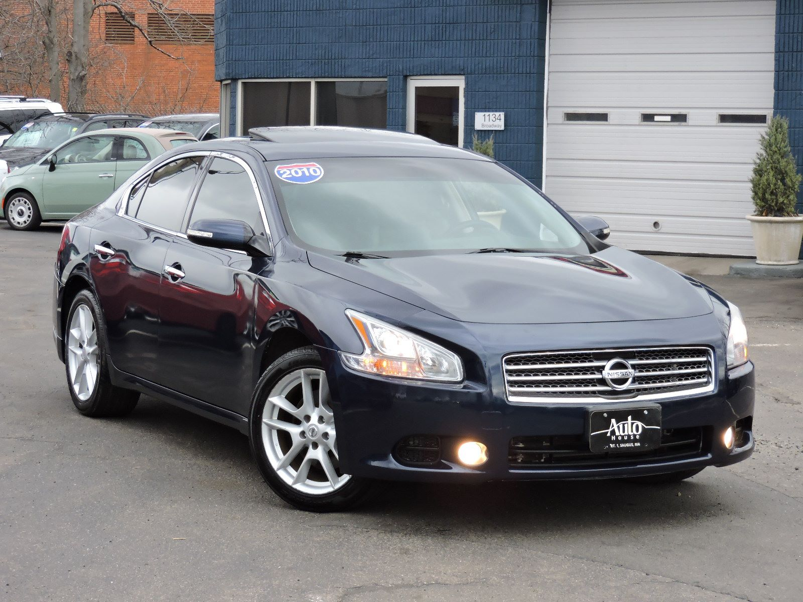 Used 2010 Nissan Maxima 3 5 Sv At Auto House Usa Saugus