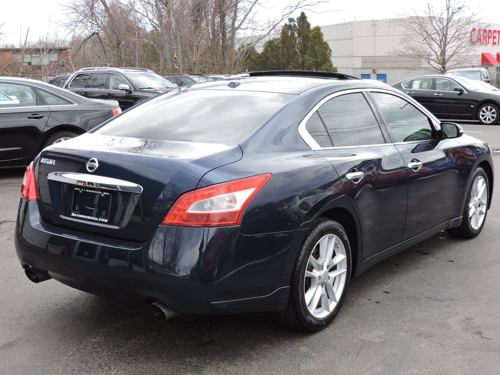 used 2010 nissan maxima 3 5 sv at auto house usa saugus. Black Bedroom Furniture Sets. Home Design Ideas