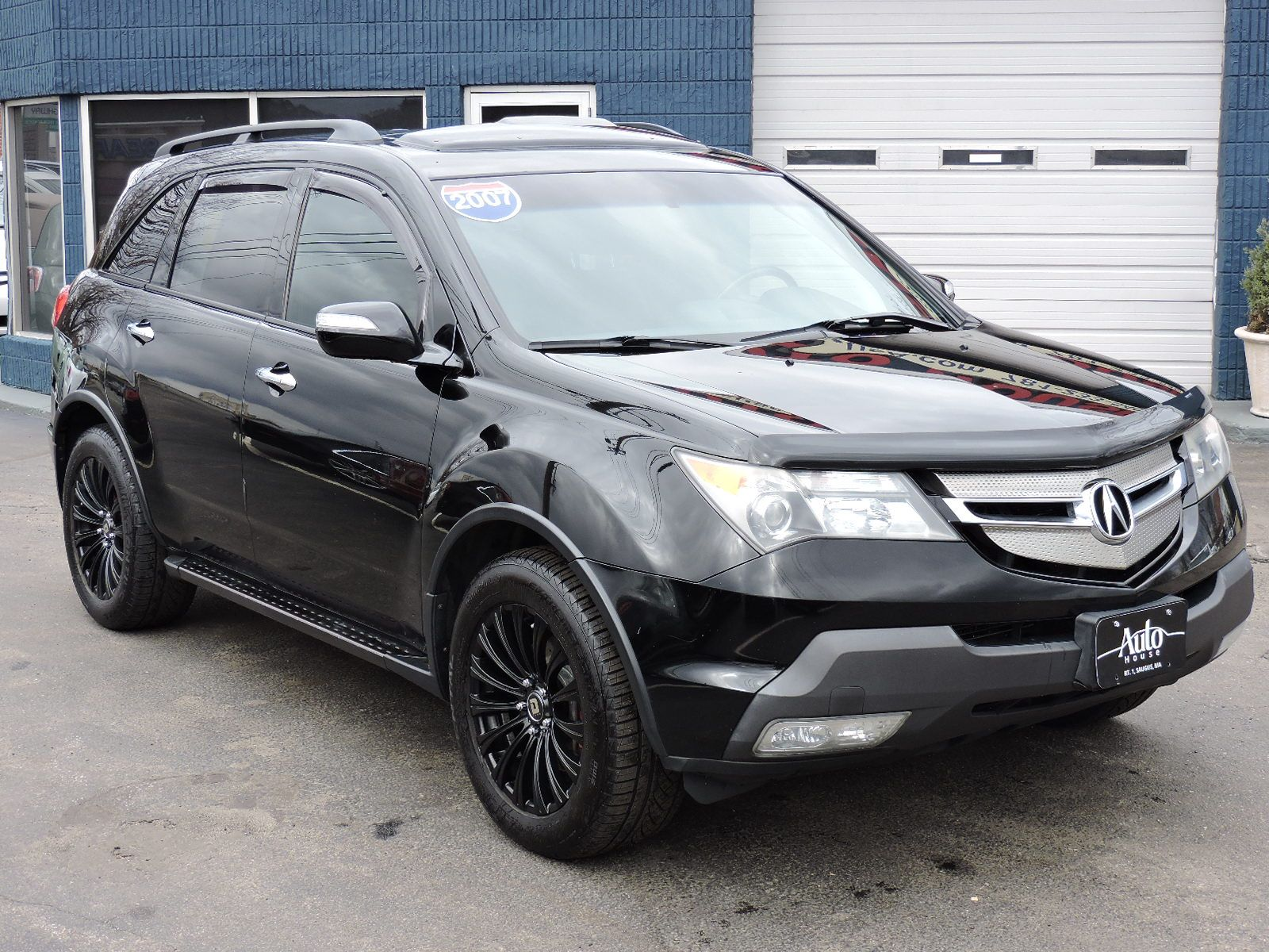 used 2007 acura mdx tech pkg at auto house usa saugus. Black Bedroom Furniture Sets. Home Design Ideas