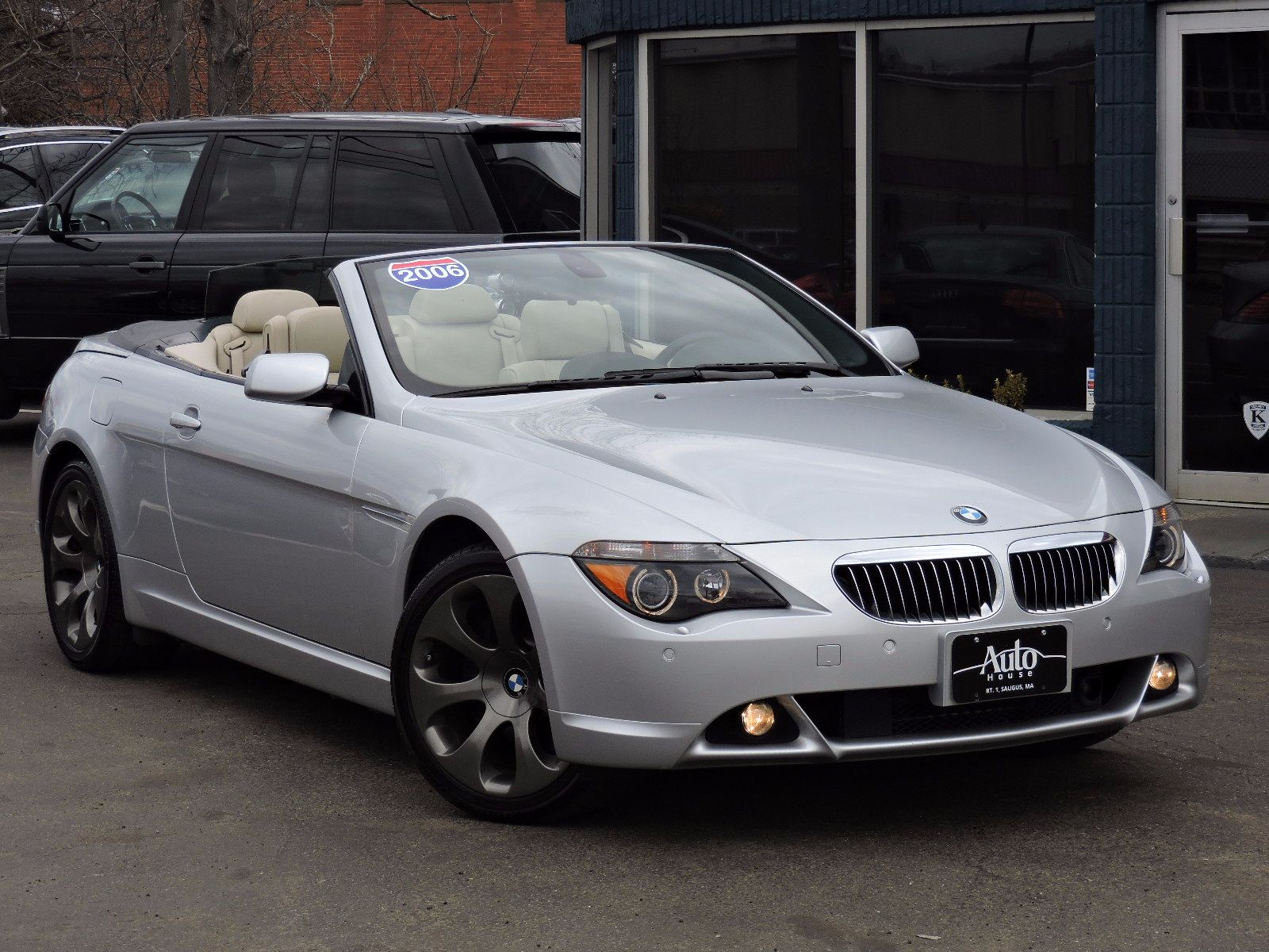 used 2006 bmw 6 series 3 0l at auto house usa saugus. Black Bedroom Furniture Sets. Home Design Ideas