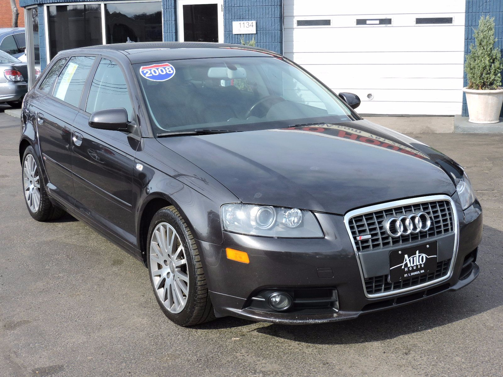 used 2008 audi a3 se at auto house usa saugus. Black Bedroom Furniture Sets. Home Design Ideas