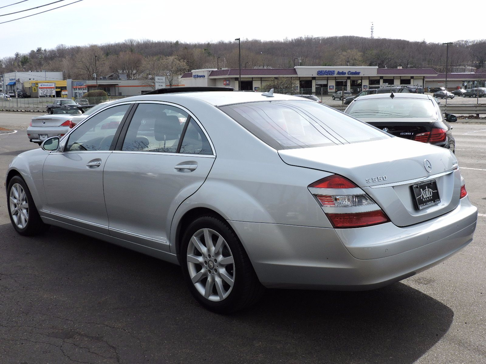 Used 2008 Mercedes Benz S 550 5 5l V8 At Auto House Usa Saugus