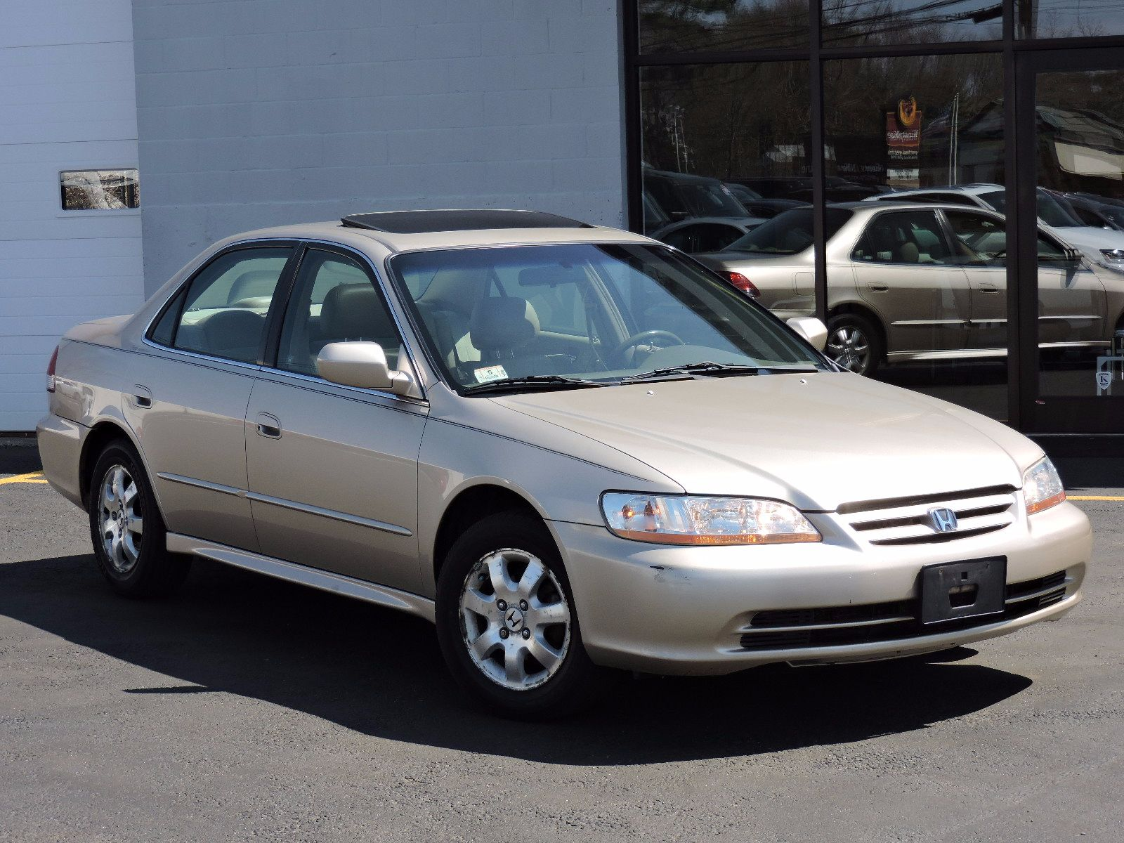 used 2001 honda accord sdn ex wleather at auto house usa saugus. Black Bedroom Furniture Sets. Home Design Ideas