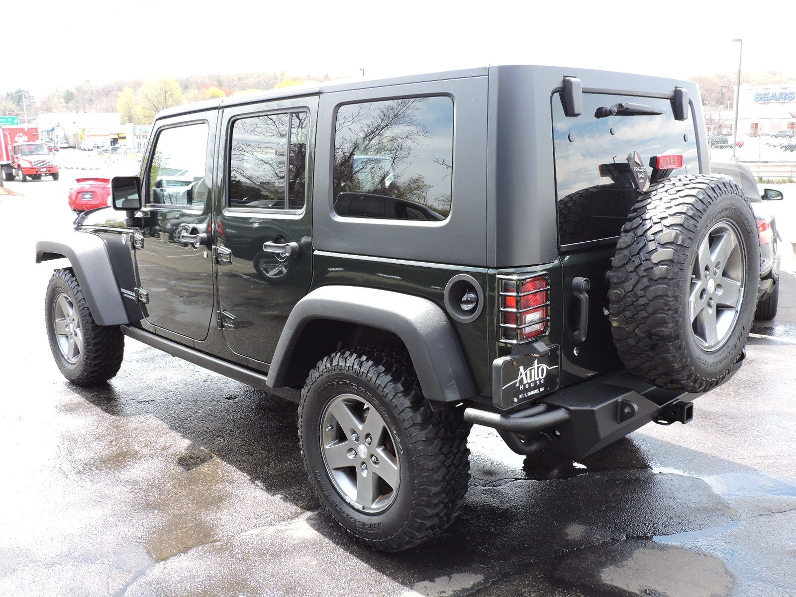 used 2010 jeep wrangler unlimited rubicon at auto house usa saugus. Black Bedroom Furniture Sets. Home Design Ideas