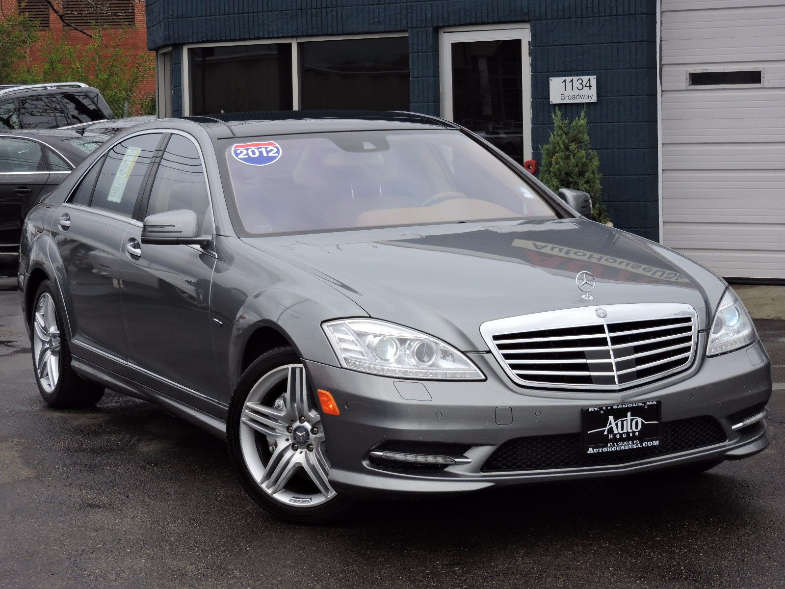 used 2012 mercedes benz s 550 ltz at auto house usa saugus. Black Bedroom Furniture Sets. Home Design Ideas