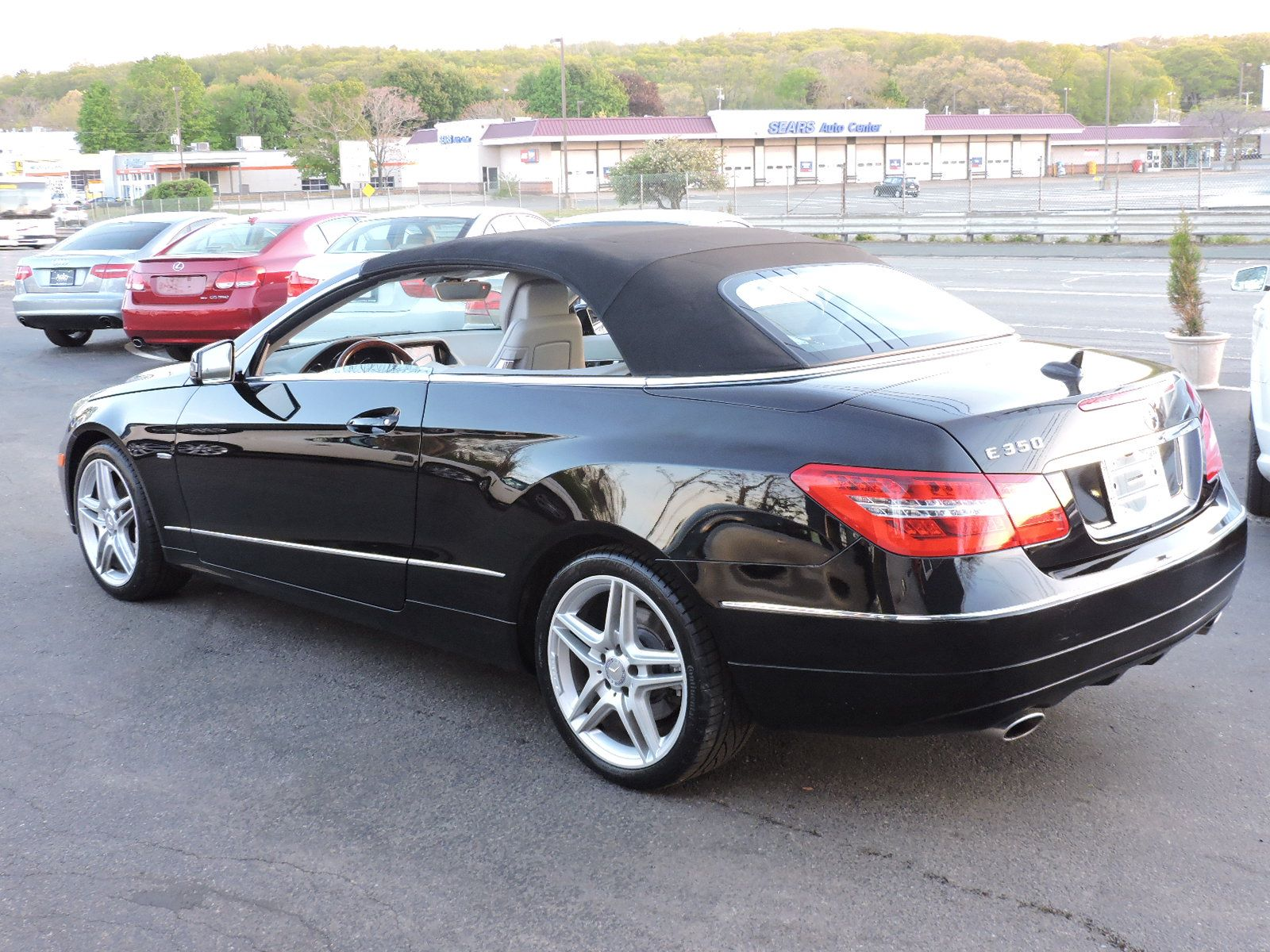 2012 Mercedes-Benz E 350 Convertible - Navigation