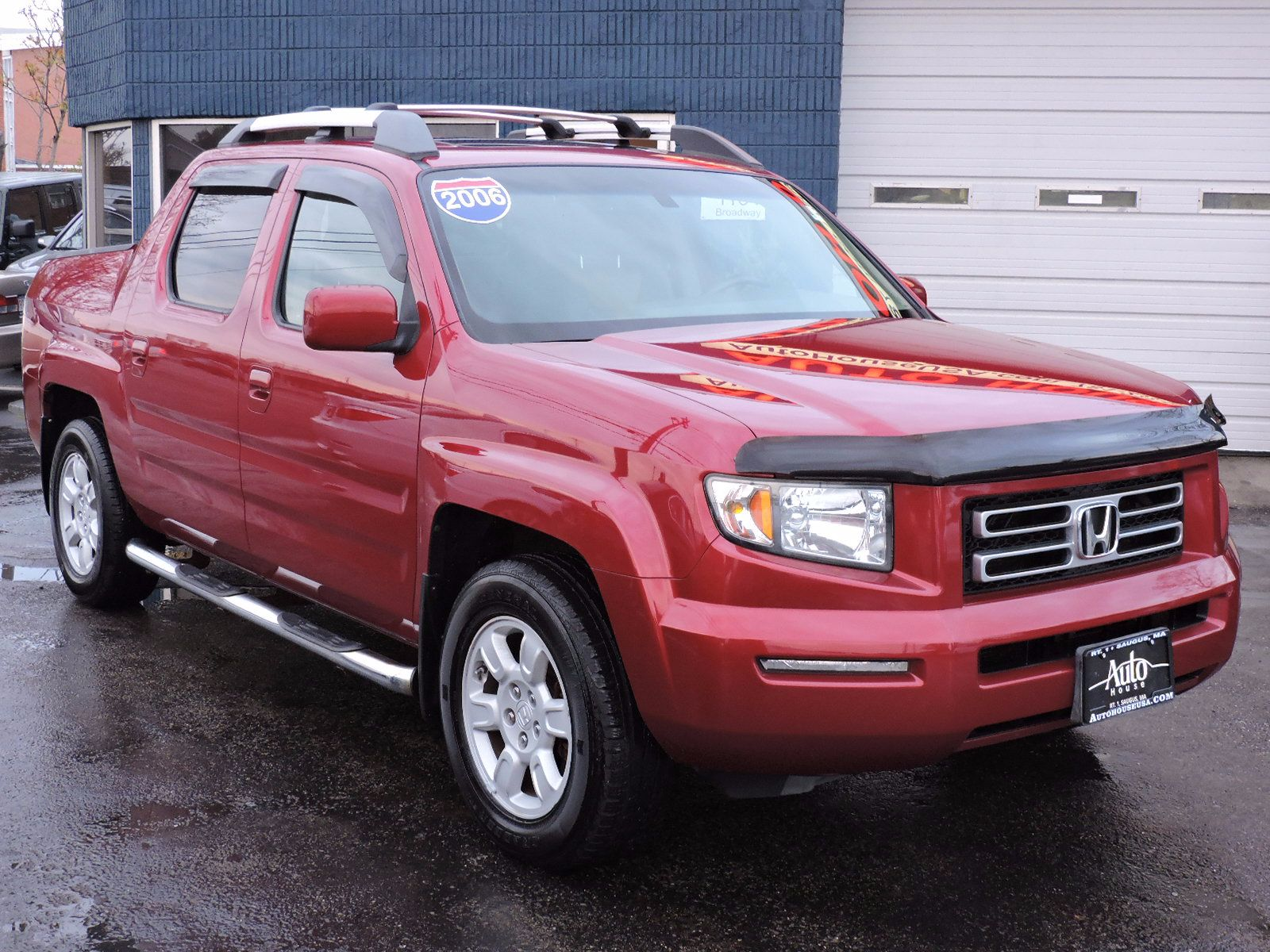 used 2006 honda ridgeline rtl with moonroof at auto house. Black Bedroom Furniture Sets. Home Design Ideas