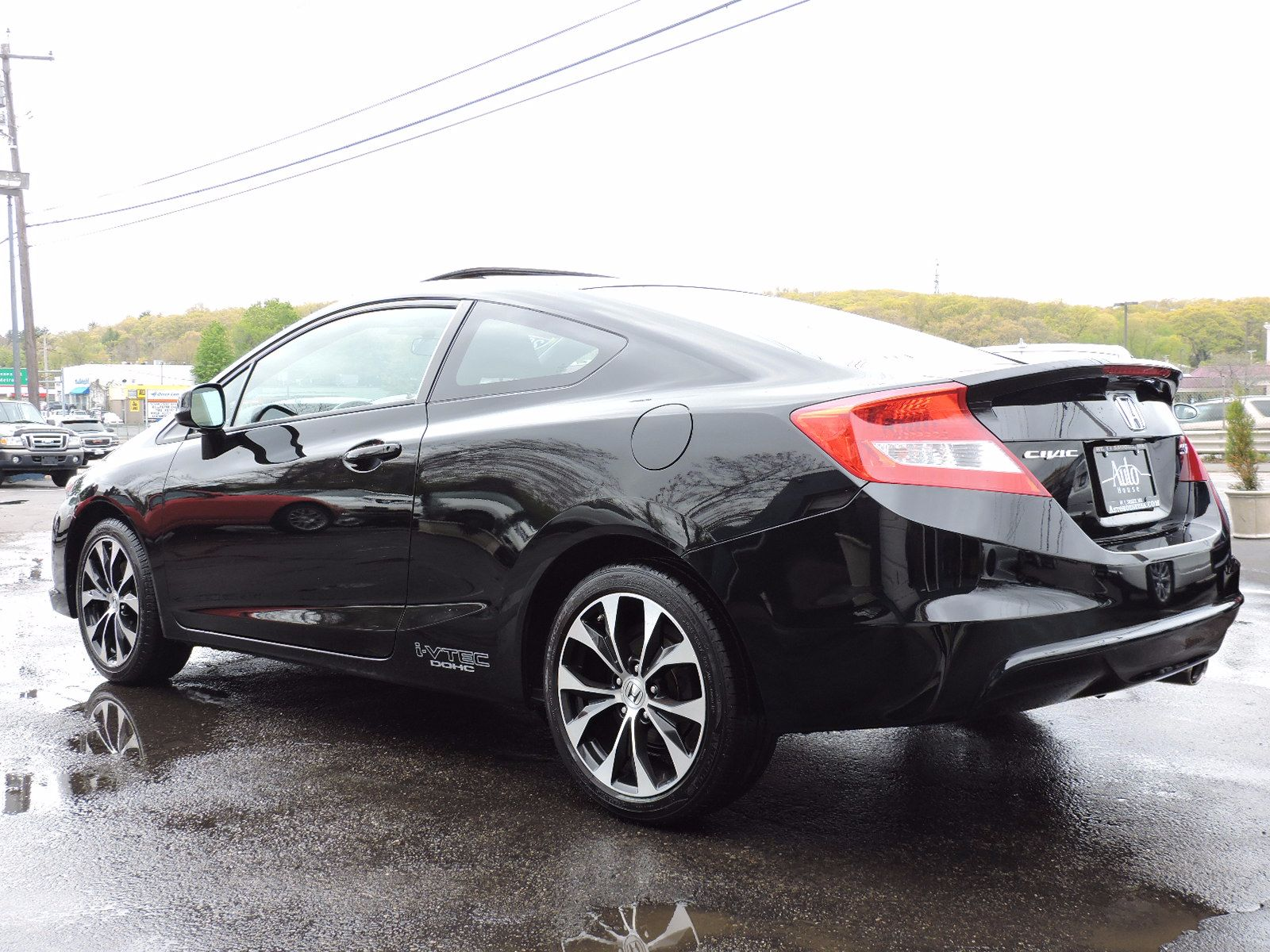 2013 Honda Civic Cpe - 6 Speed Manual