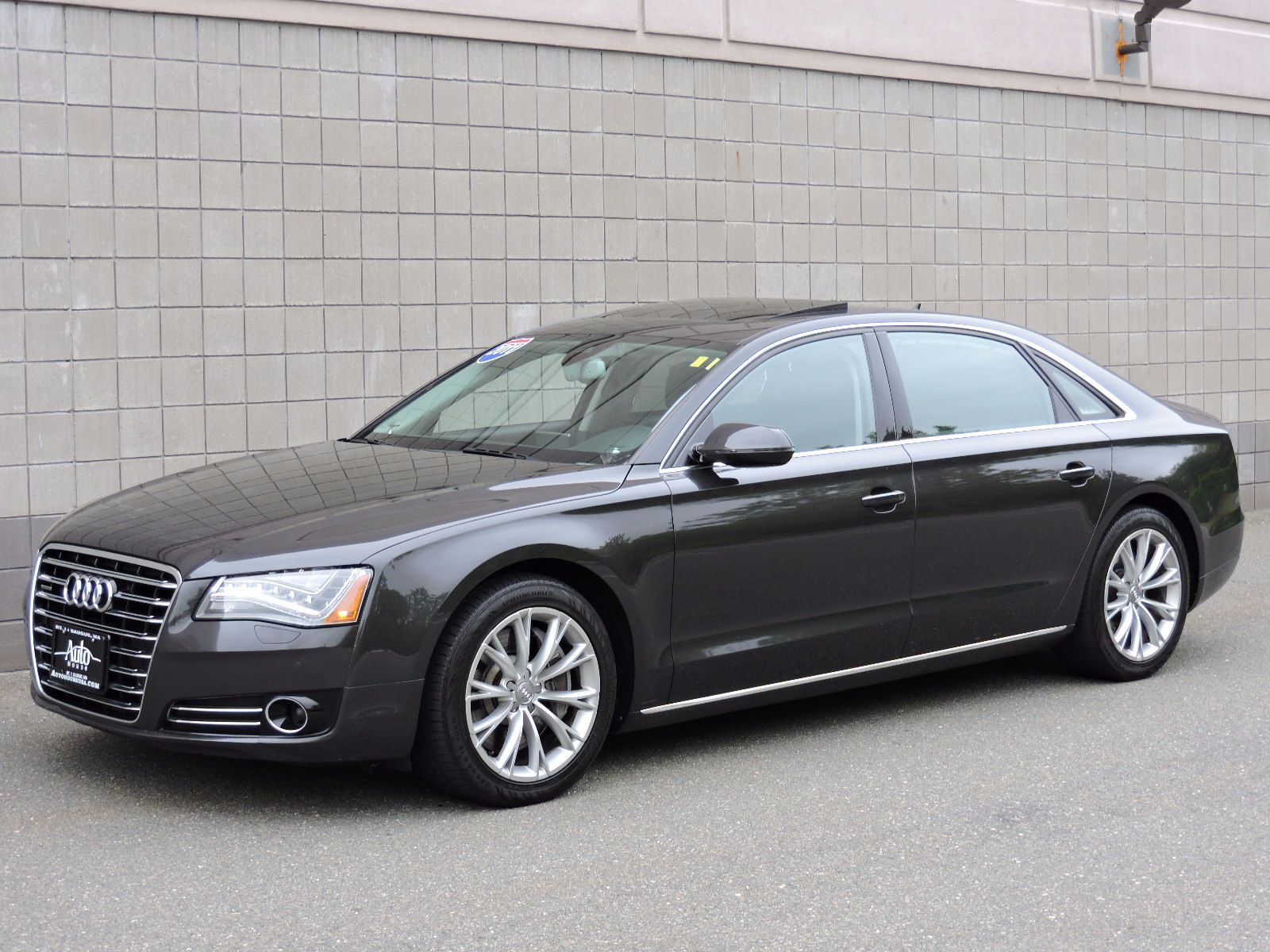 used 2011 audi a8 l at auto house usa saugus. Black Bedroom Furniture Sets. Home Design Ideas