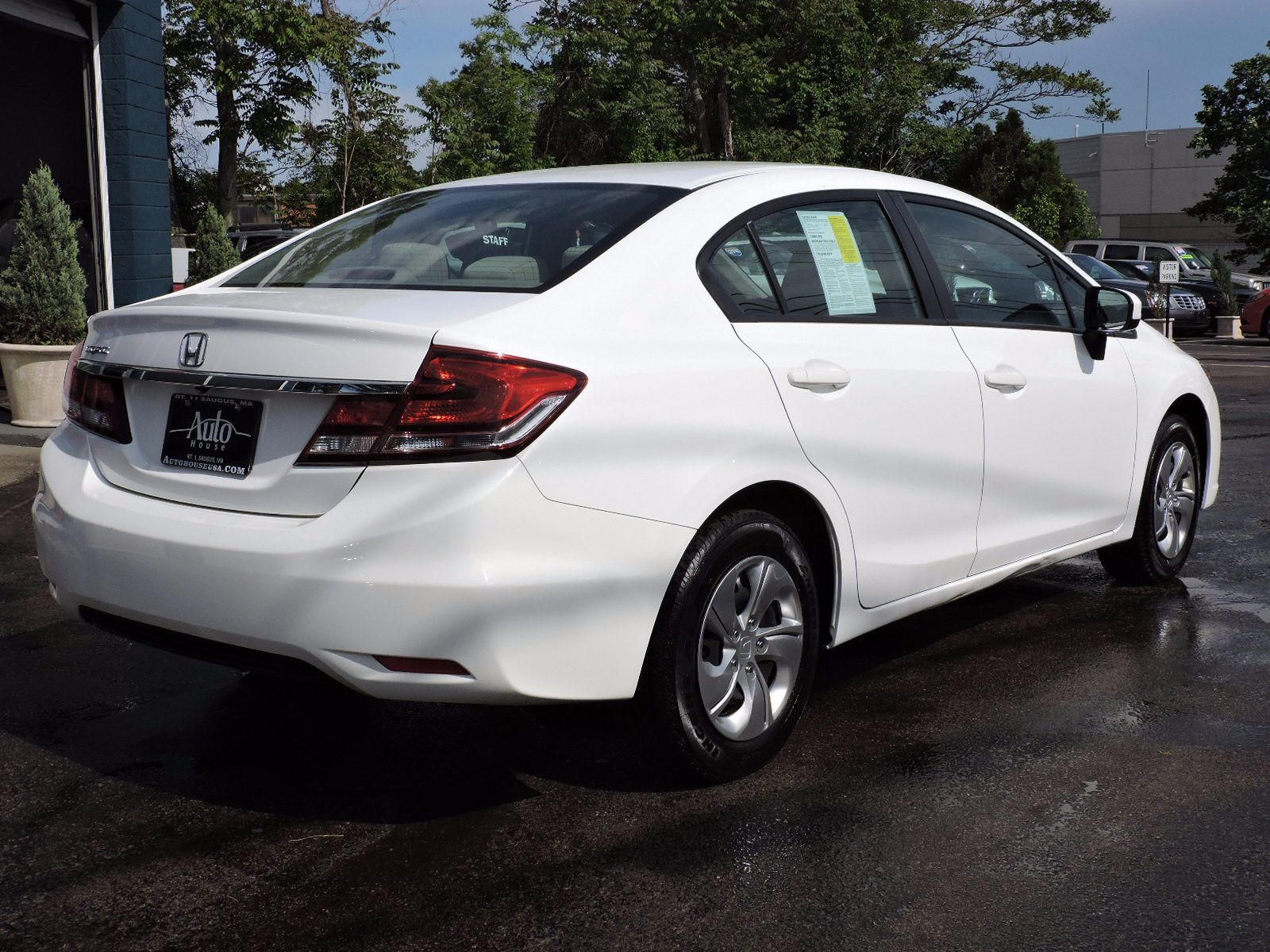 used 2015 honda civic lx at auto house usa saugus