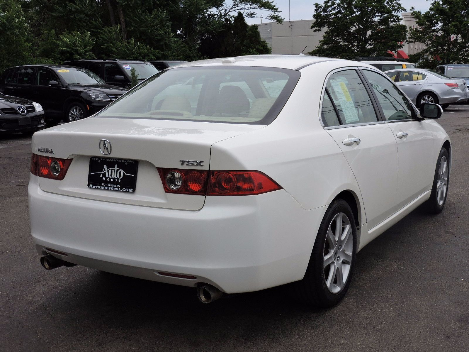 used 2005 acura tsx at auto house usa saugus. Black Bedroom Furniture Sets. Home Design Ideas