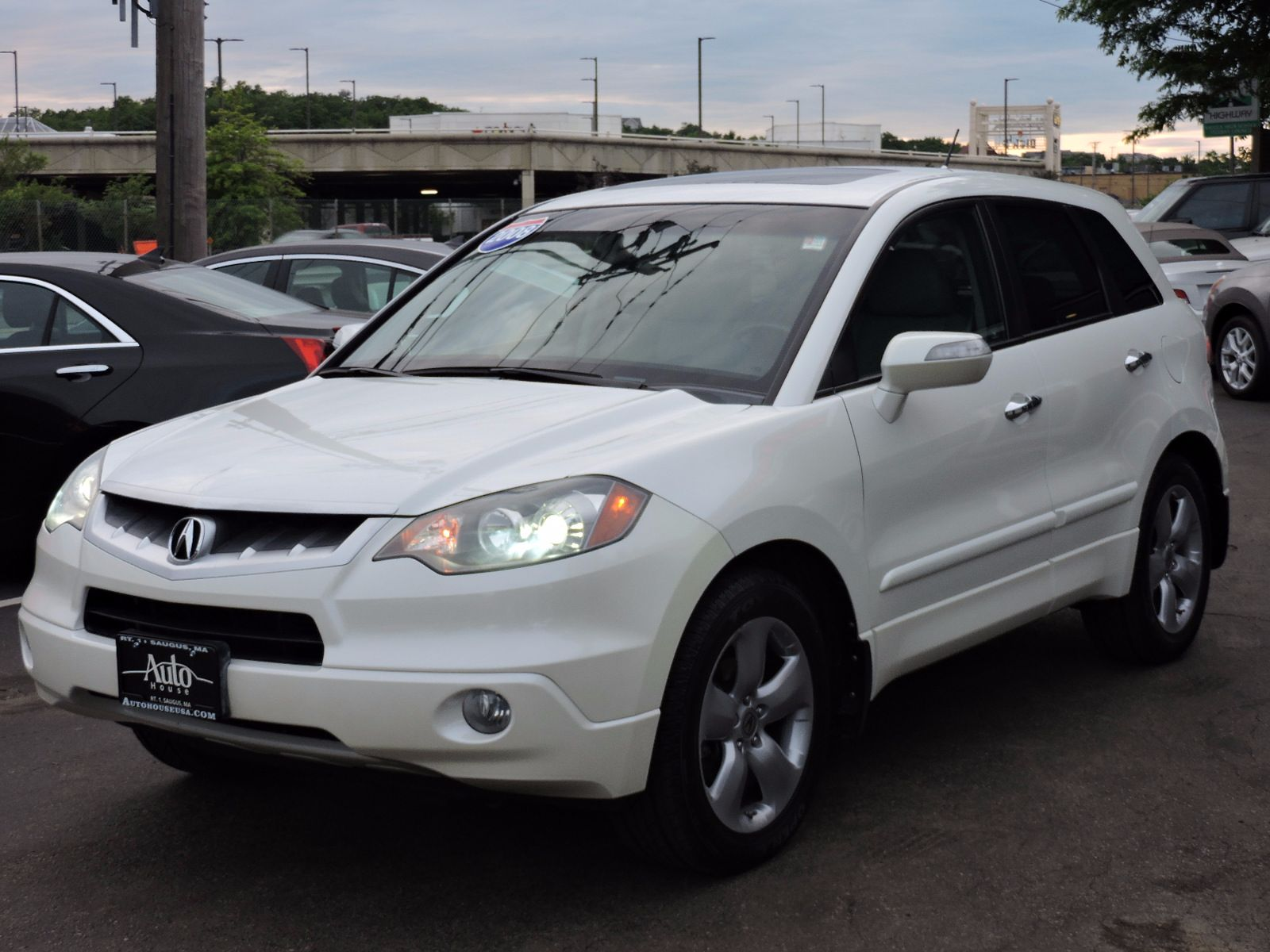 used 2008 acura rdx ls at auto house usa saugus. Black Bedroom Furniture Sets. Home Design Ideas