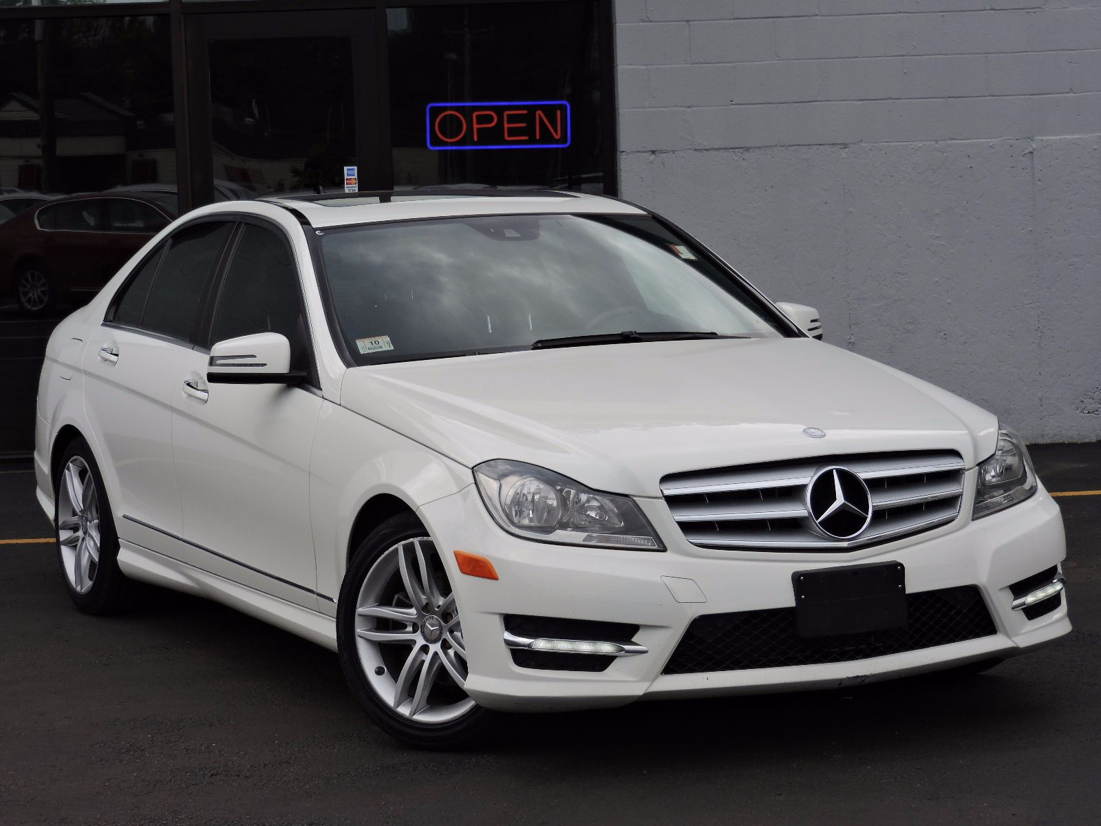 used 2012 mercedes benz c class c 300 sport at auto house usa saugus. Black Bedroom Furniture Sets. Home Design Ideas