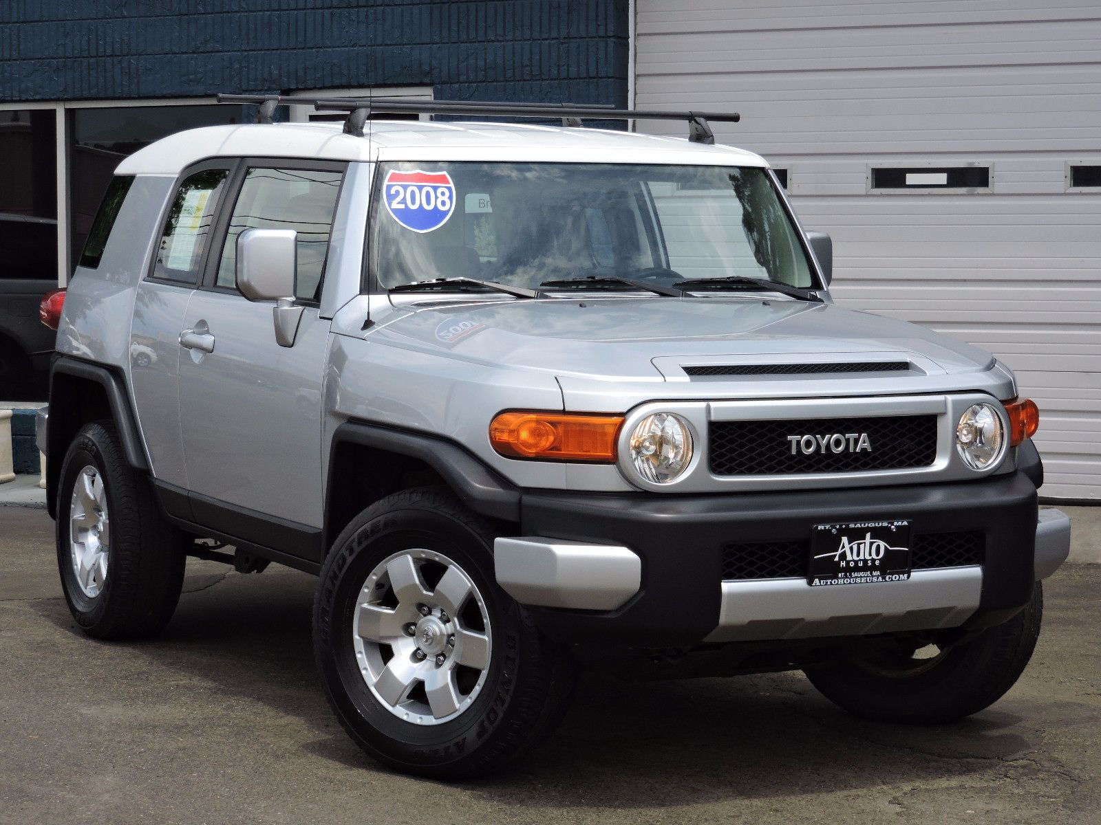 used 2008 toyota fj cruiser luxury at auto house usa saugus. Black Bedroom Furniture Sets. Home Design Ideas