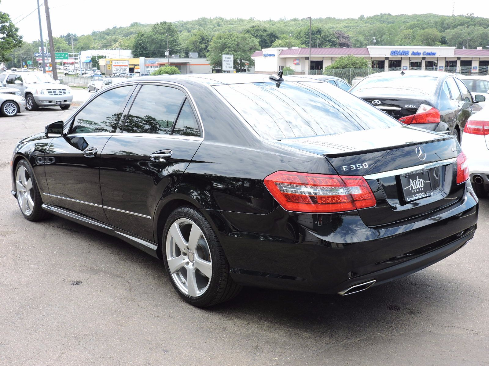 Used 2011 mercedes benz e 350 e 350 sport at auto house for Used mercedes benz usa