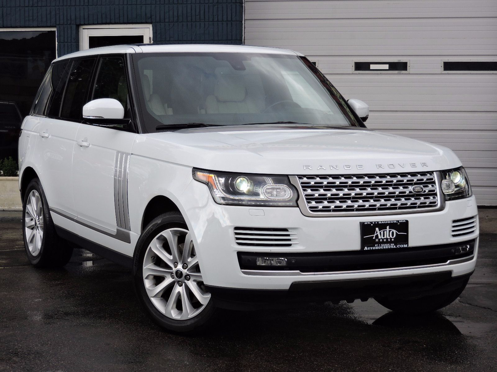 used 2014 land rover range rover hse at auto house usa saugus. Black Bedroom Furniture Sets. Home Design Ideas