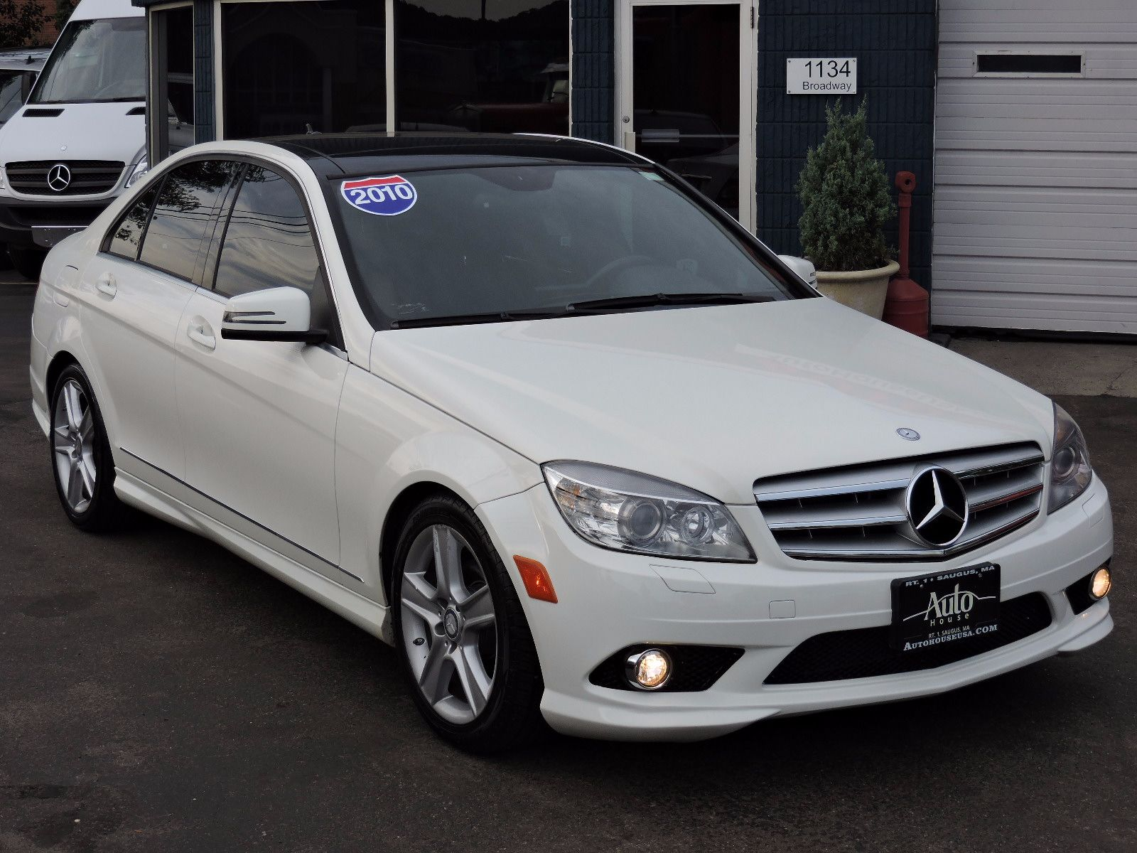 Used 2010 mercedes benz c300 luxury at auto house usa saugus for Mercedes benz downtown service