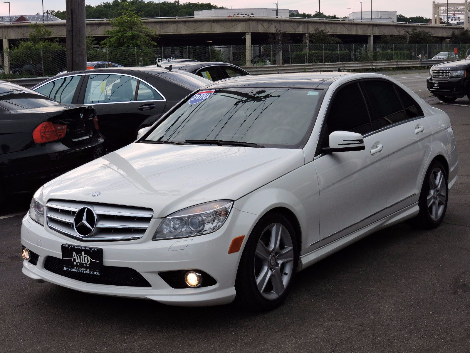 Used 2010 mercedes benz c300 luxury at auto house usa saugus for Mercedes benz 2010 c300 price