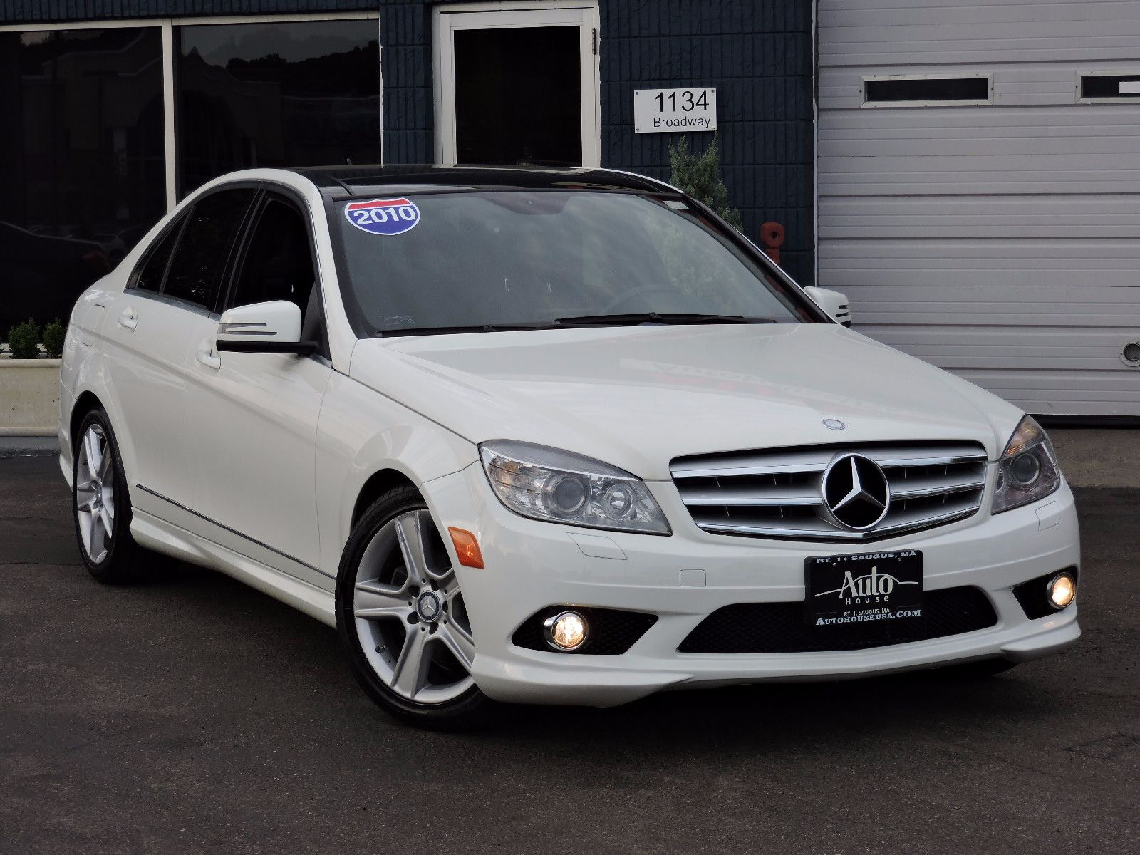Used 2010 Mercedes Benz C300 Luxury At Auto House Usa Saugus